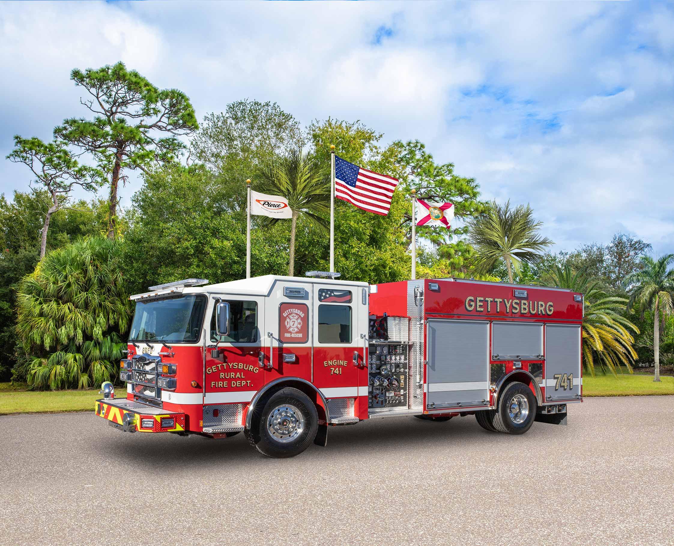 Gettysburg Rural Fire Department - Pumper