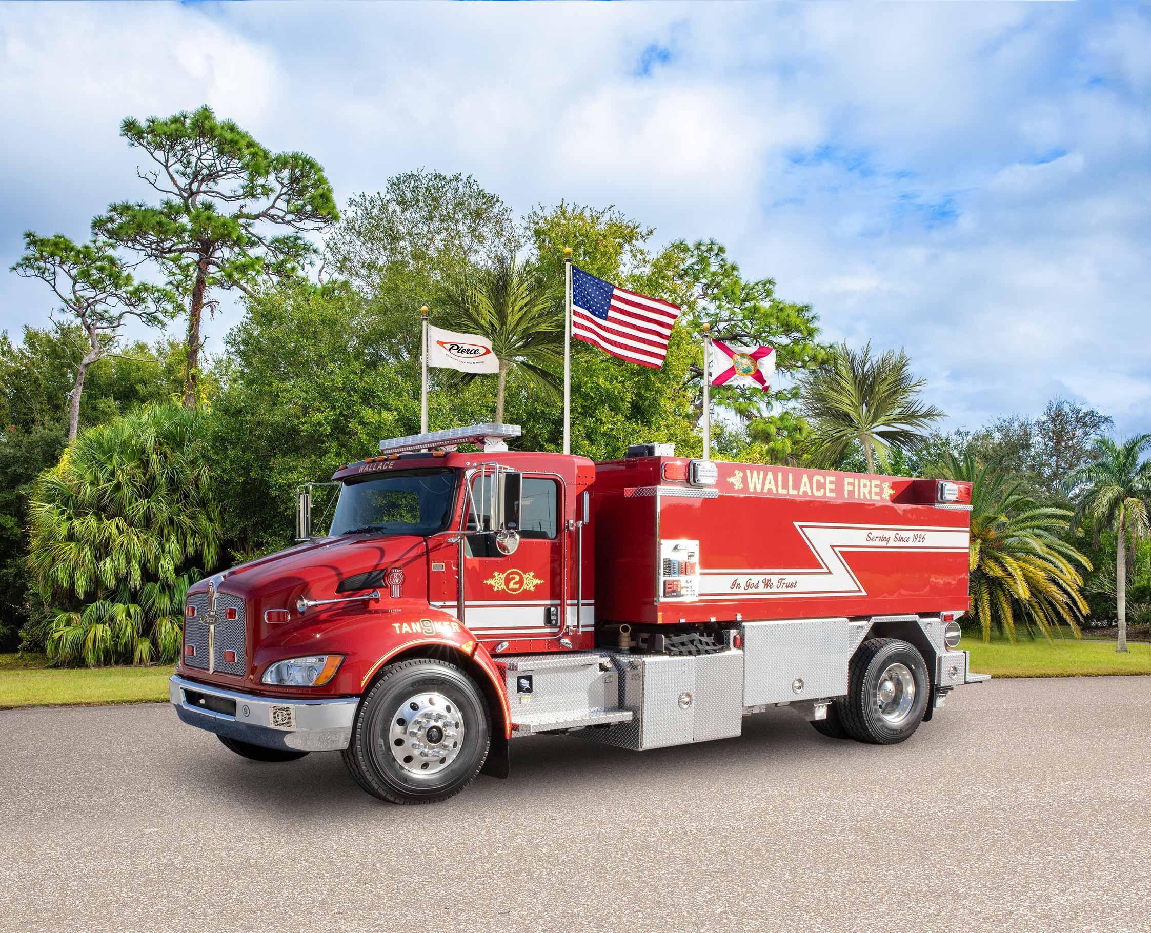 Wallace Fire Department - Tanker