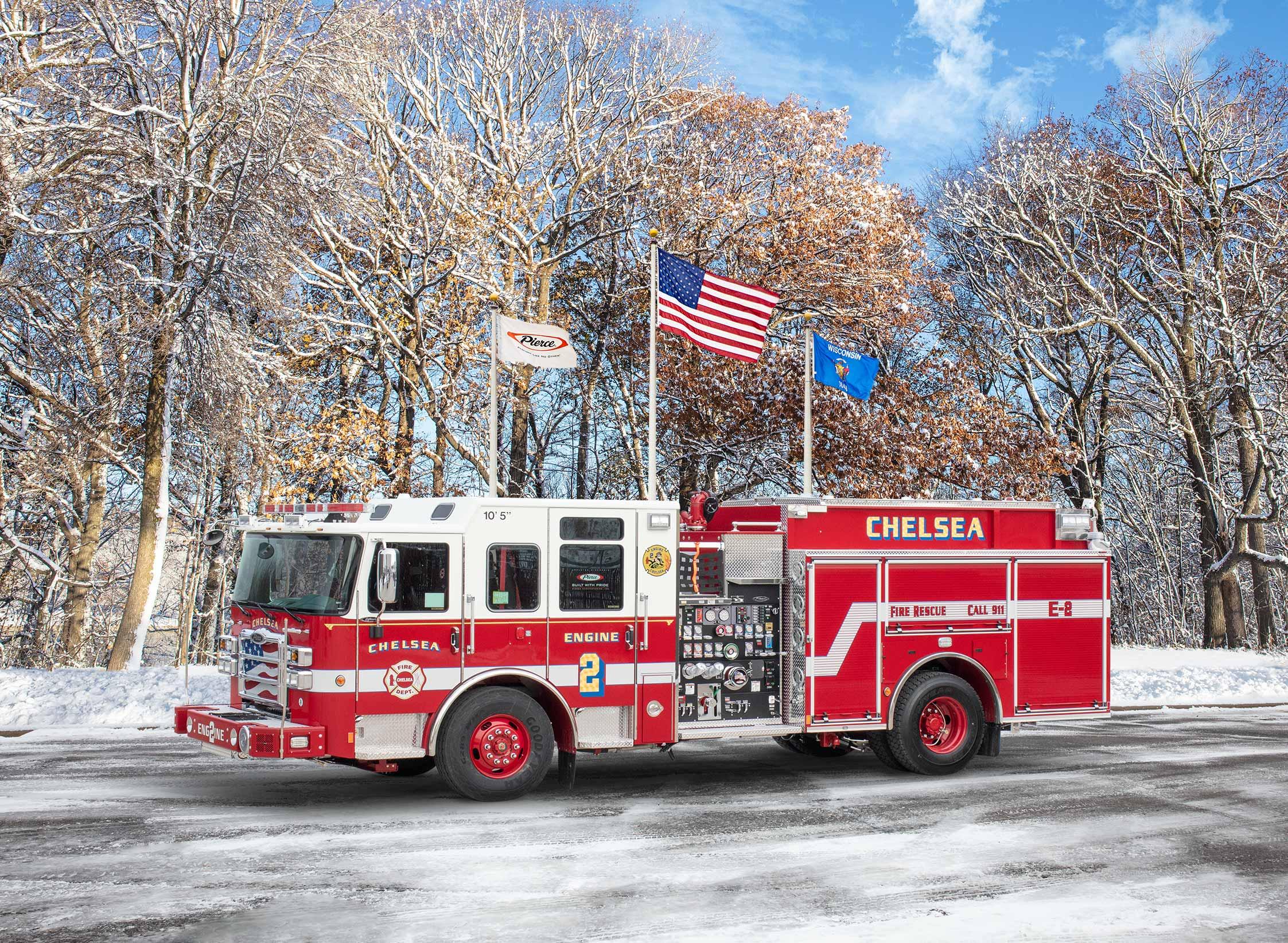 Chelsea Fire Department - Pumper