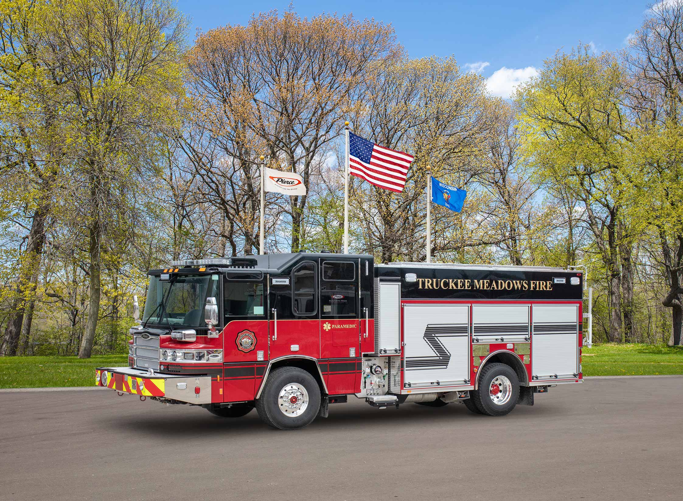 Truckee Meadows Fire Protection District - Pumper