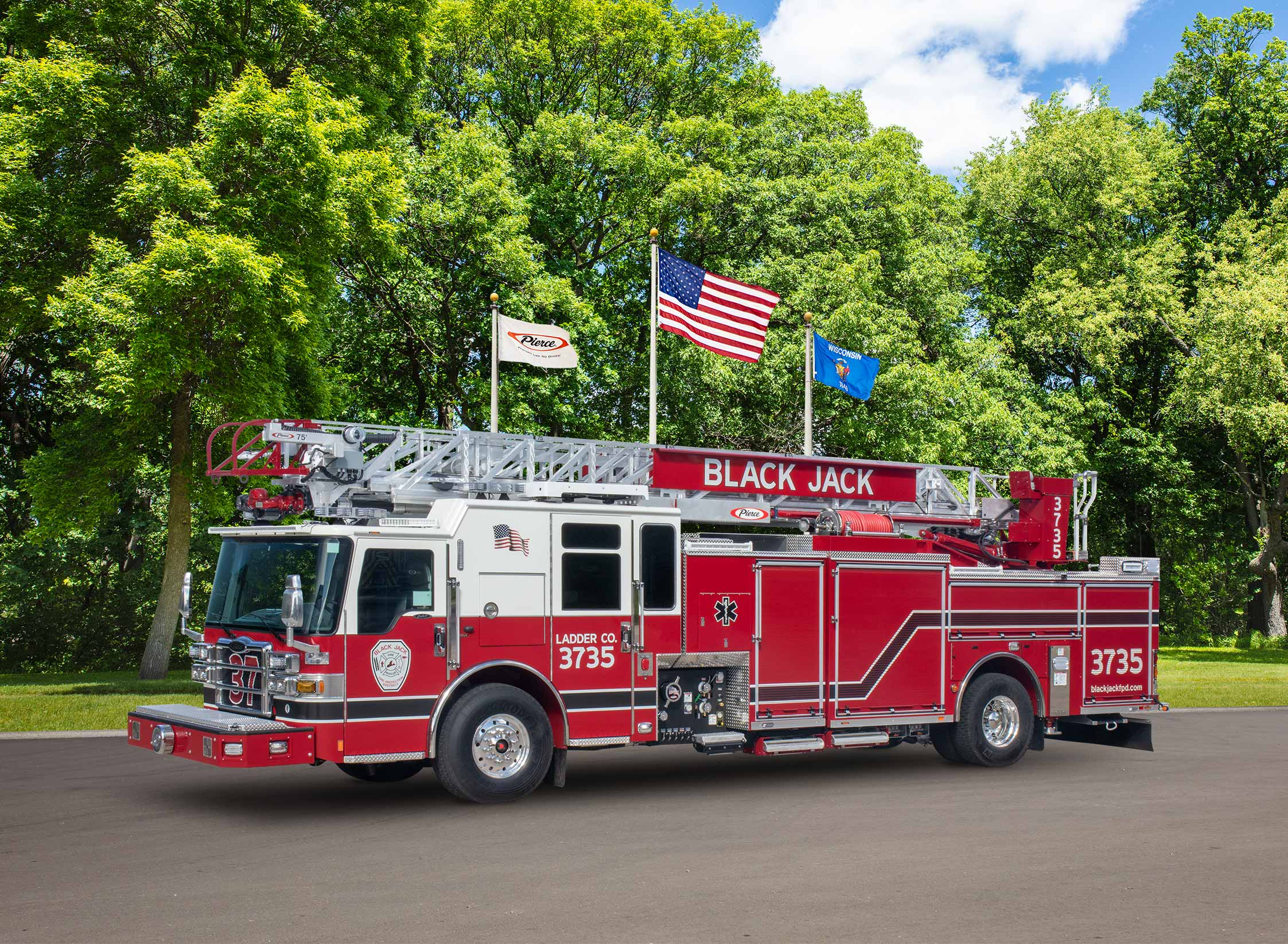 Black Jack Fire Protection District - Aerial