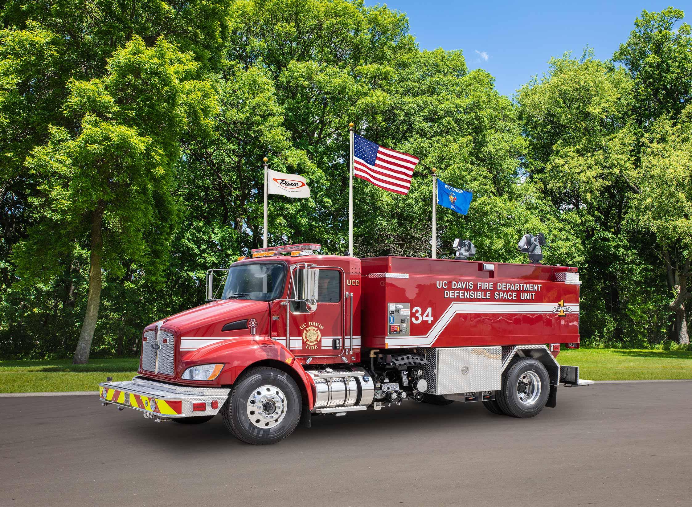 UC Davis Fire Department - Tanker