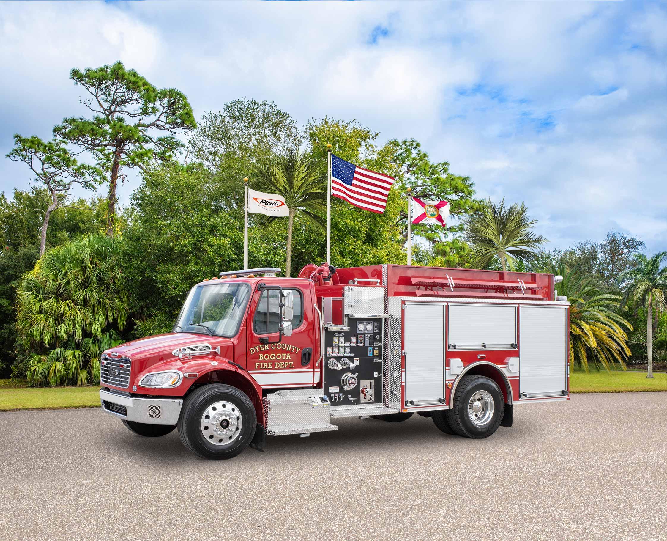 Dyer County Fire Department - Pumper