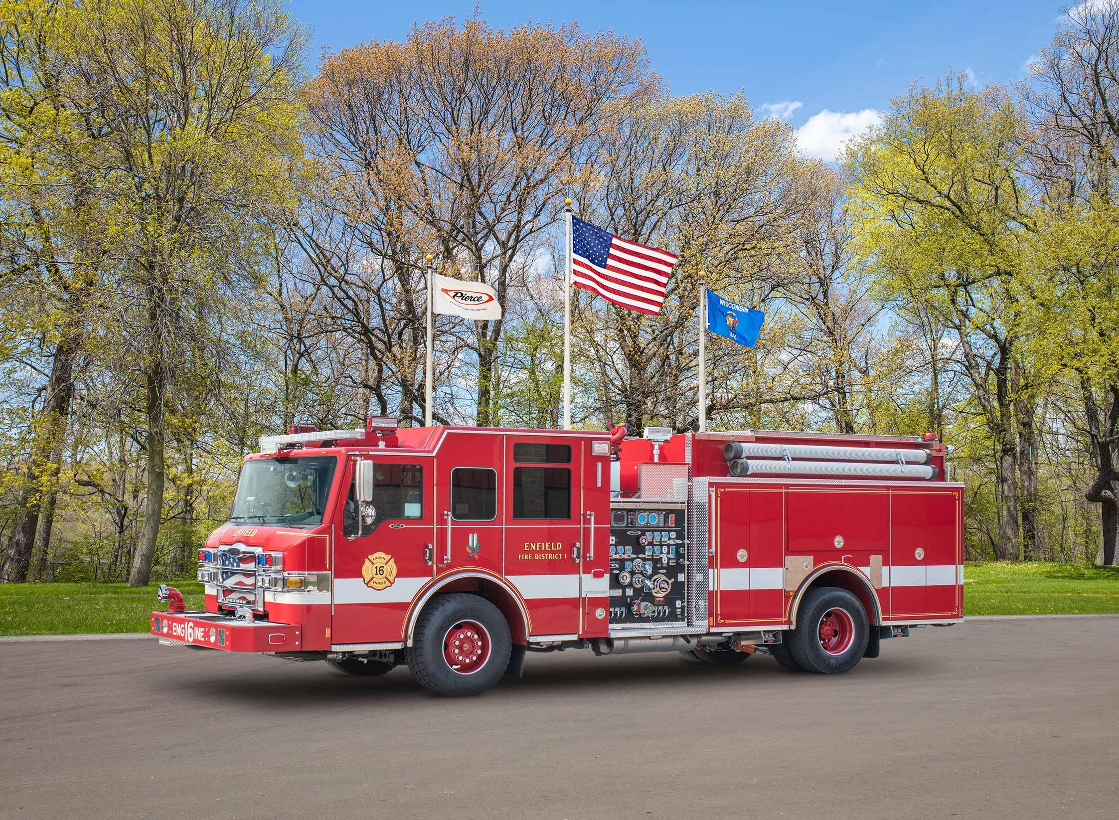 Enfield Fire District - Pumper