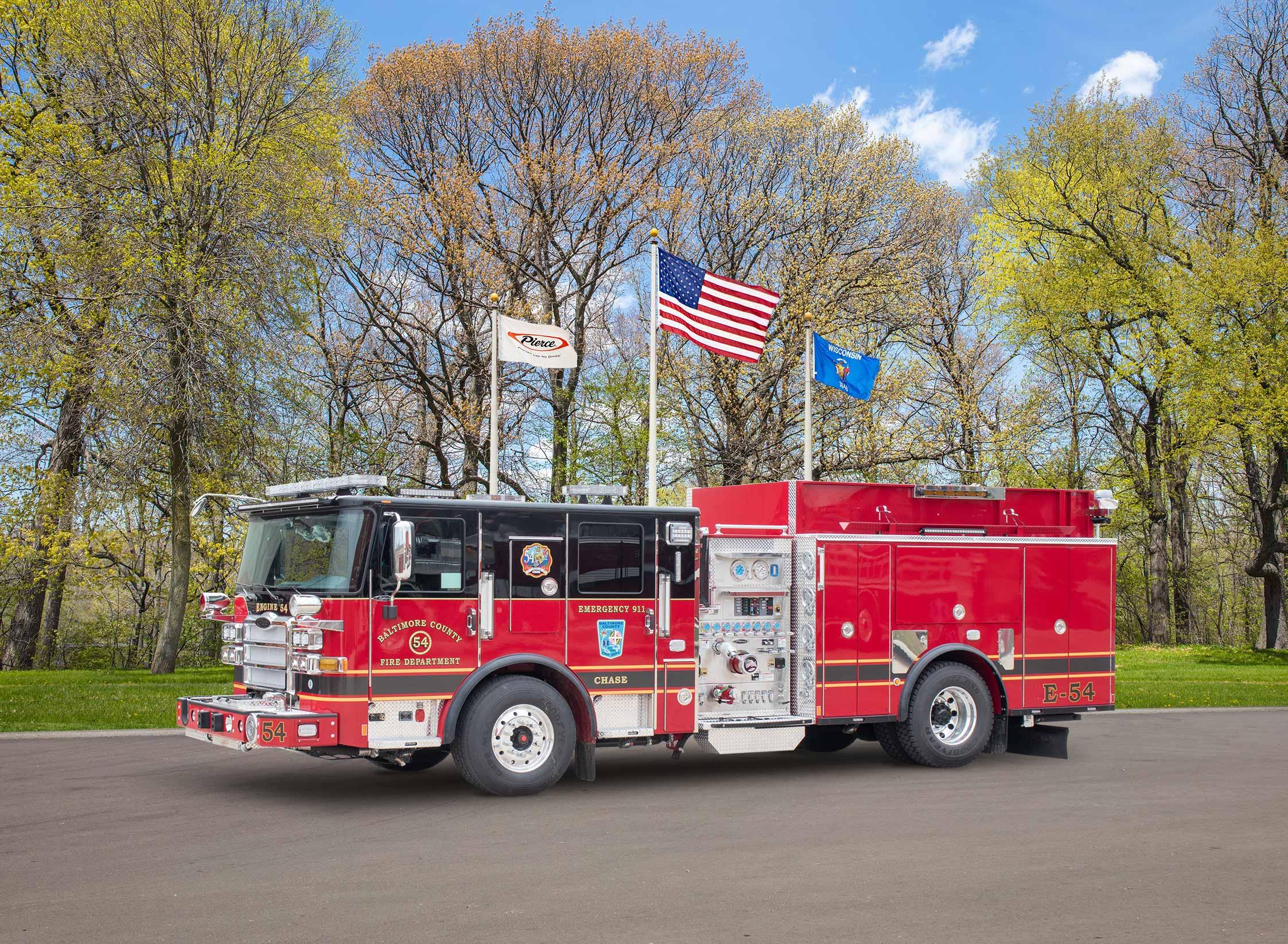 Baltimore County Fire Department - Pumper
