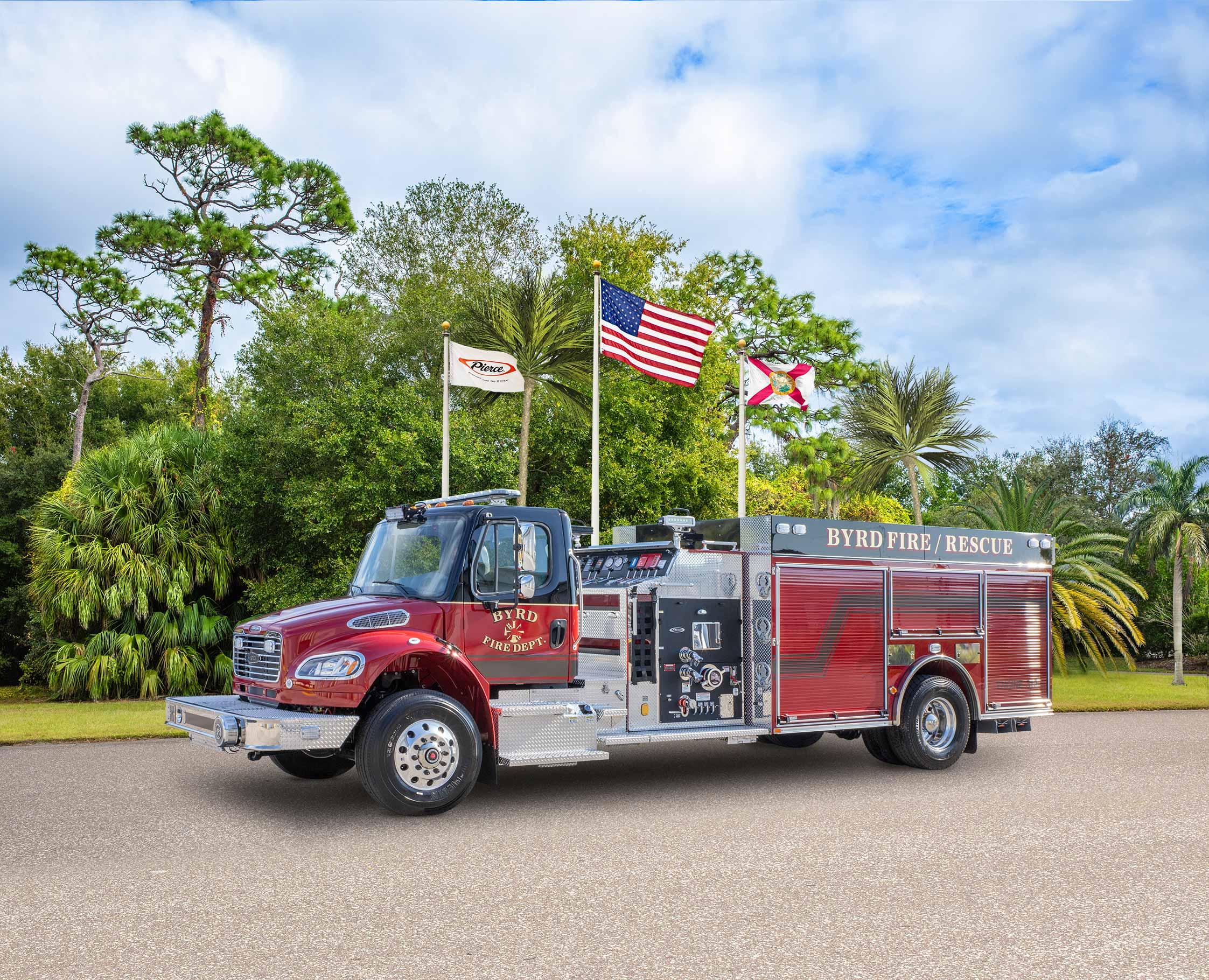 Byrd Volunteer Fire Department - Pumper