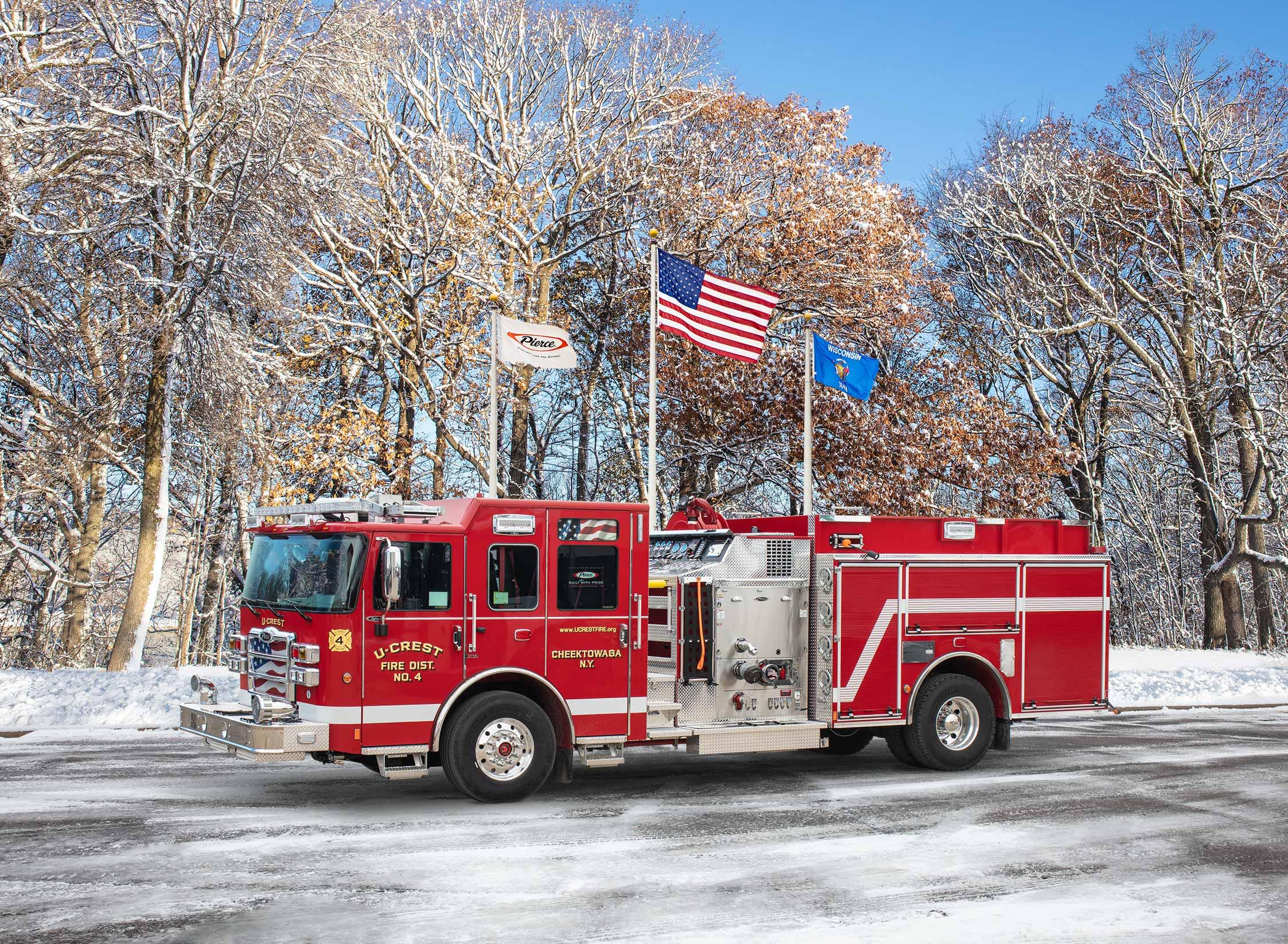 U-Crest Fire District No. 4 - Pumper