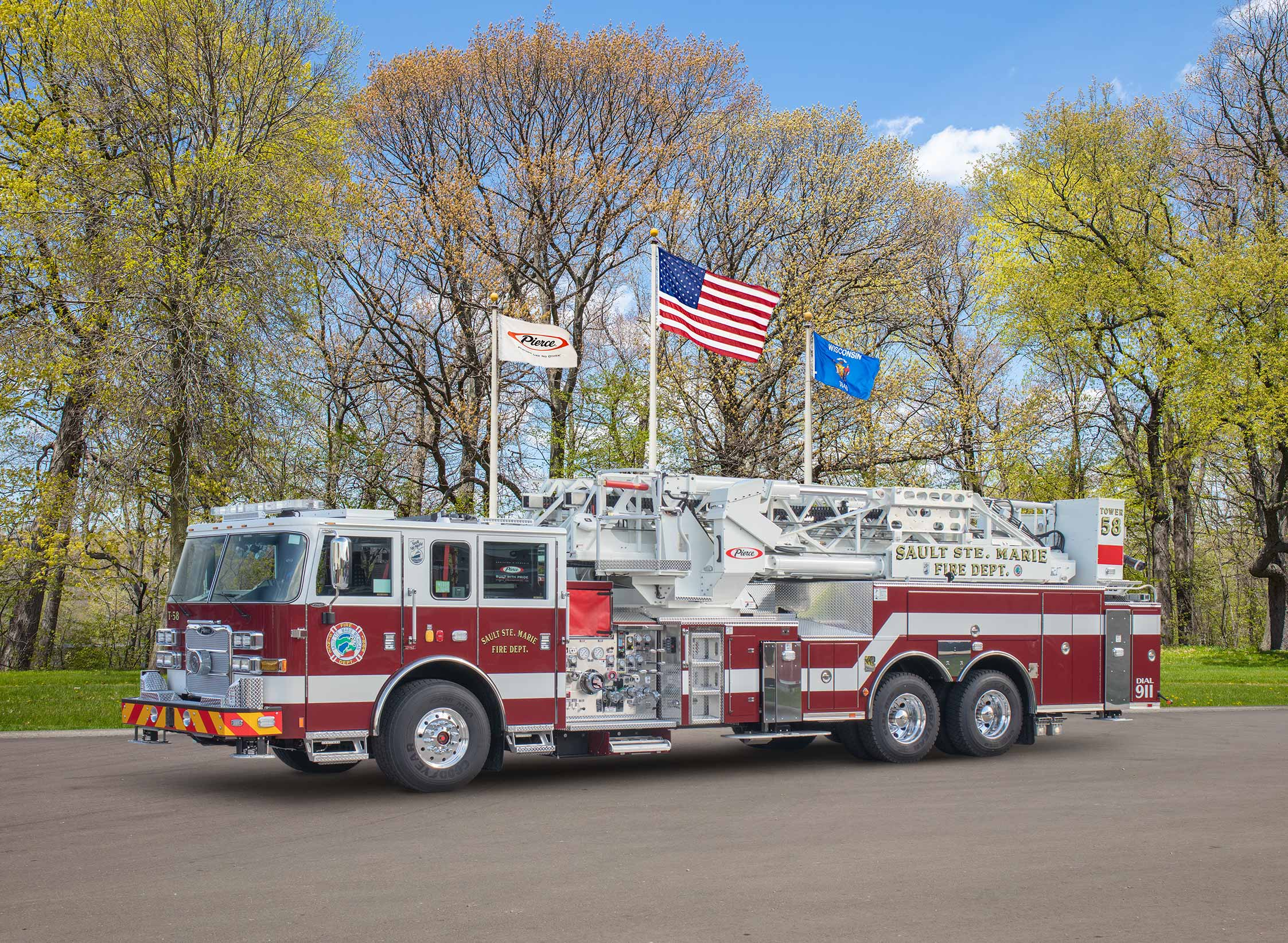 Sault Ste. Marie Fire Department - Aerial