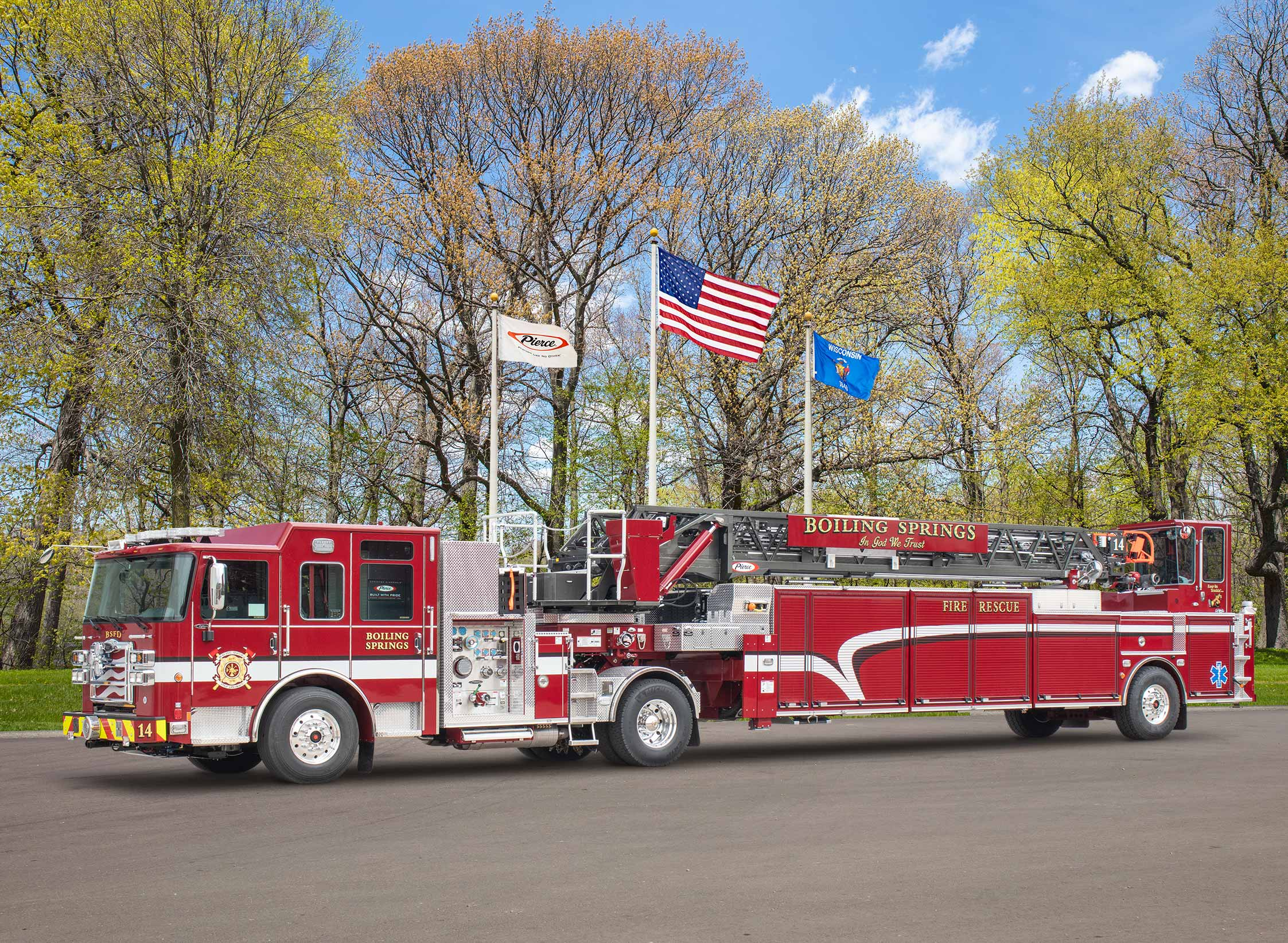 Boiling Springs Fire Department - Aerial