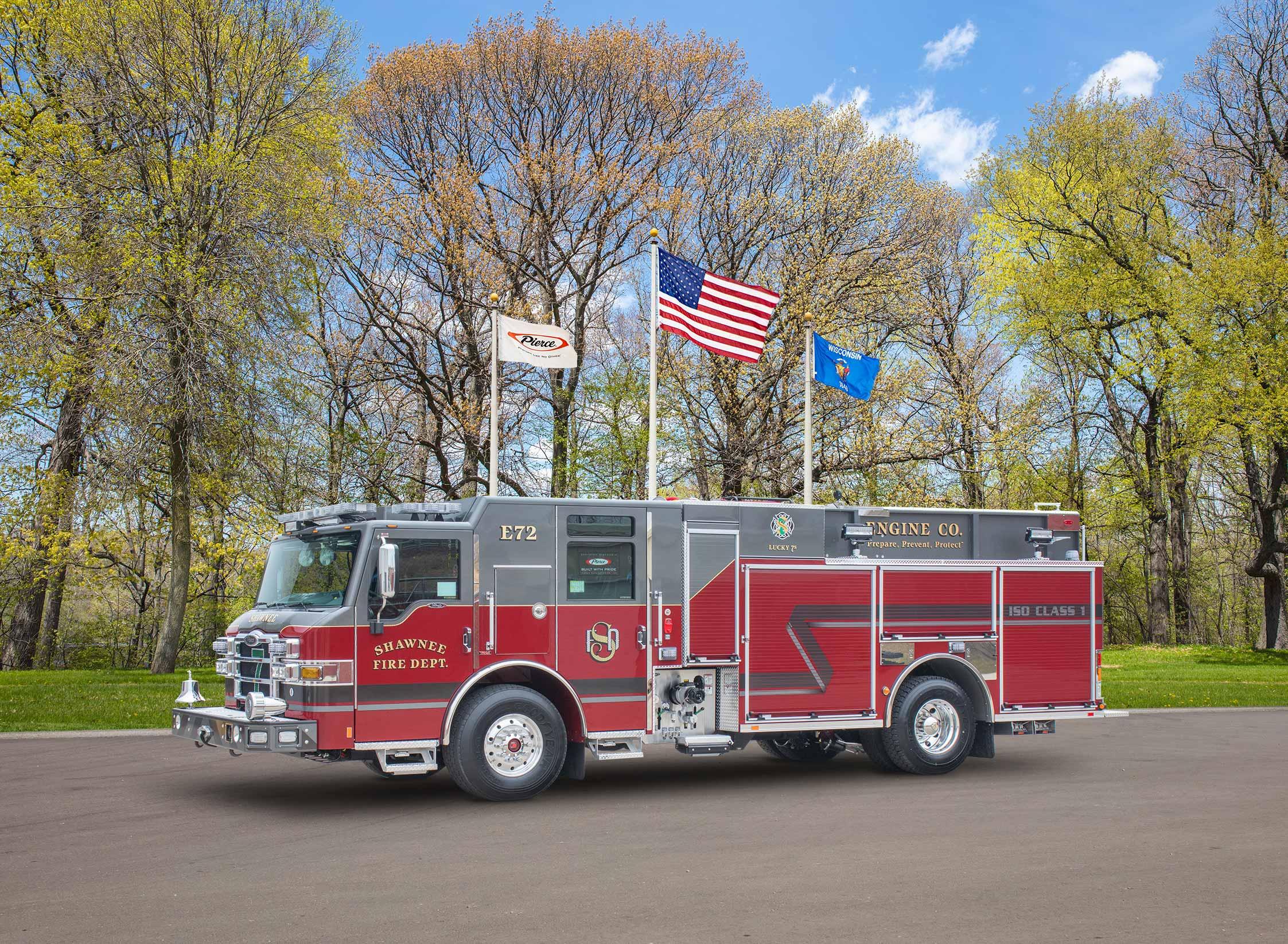 Shawnee Fire Department - Pumper