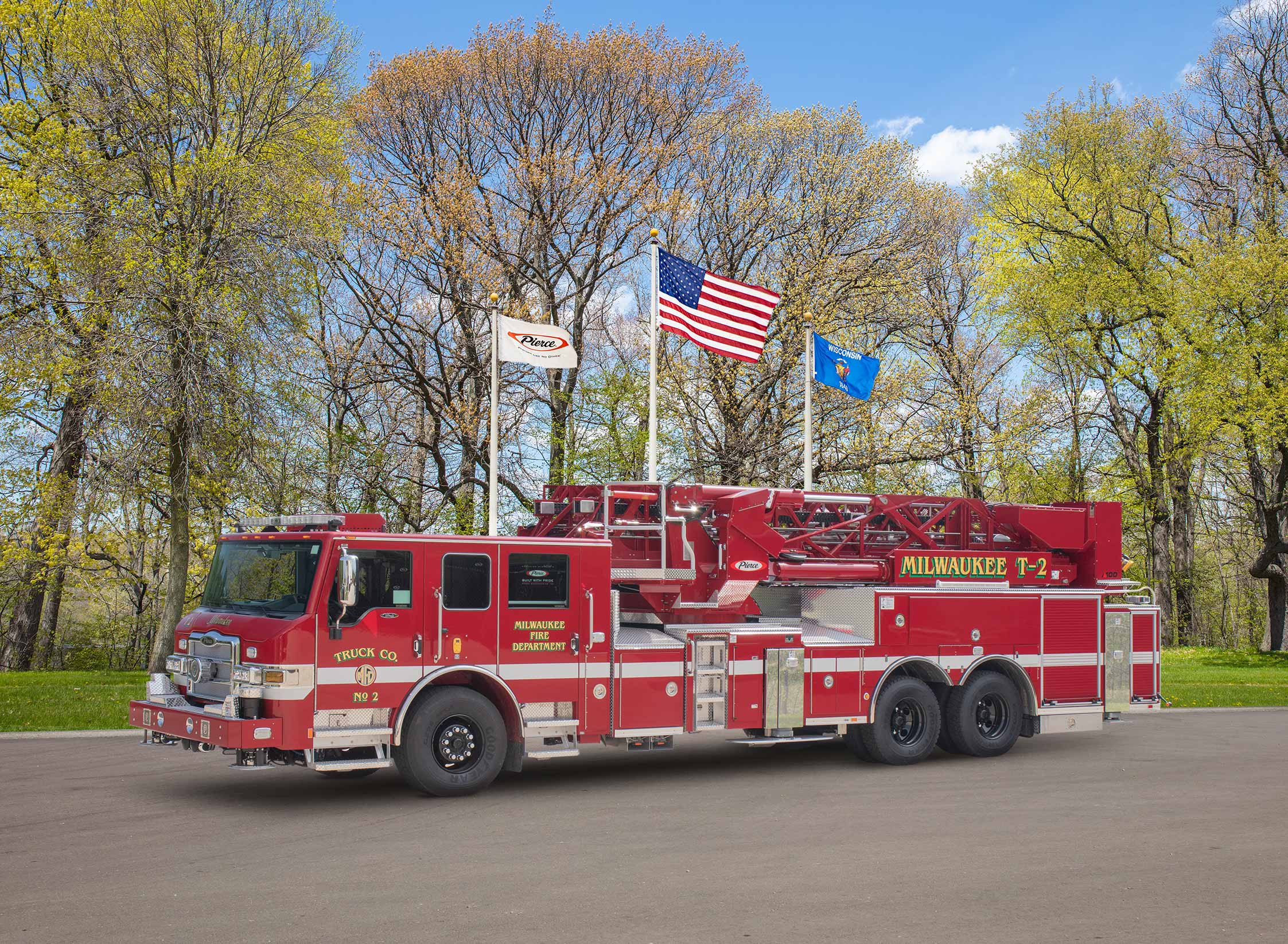 Milwaukee Fire Department - Aerial