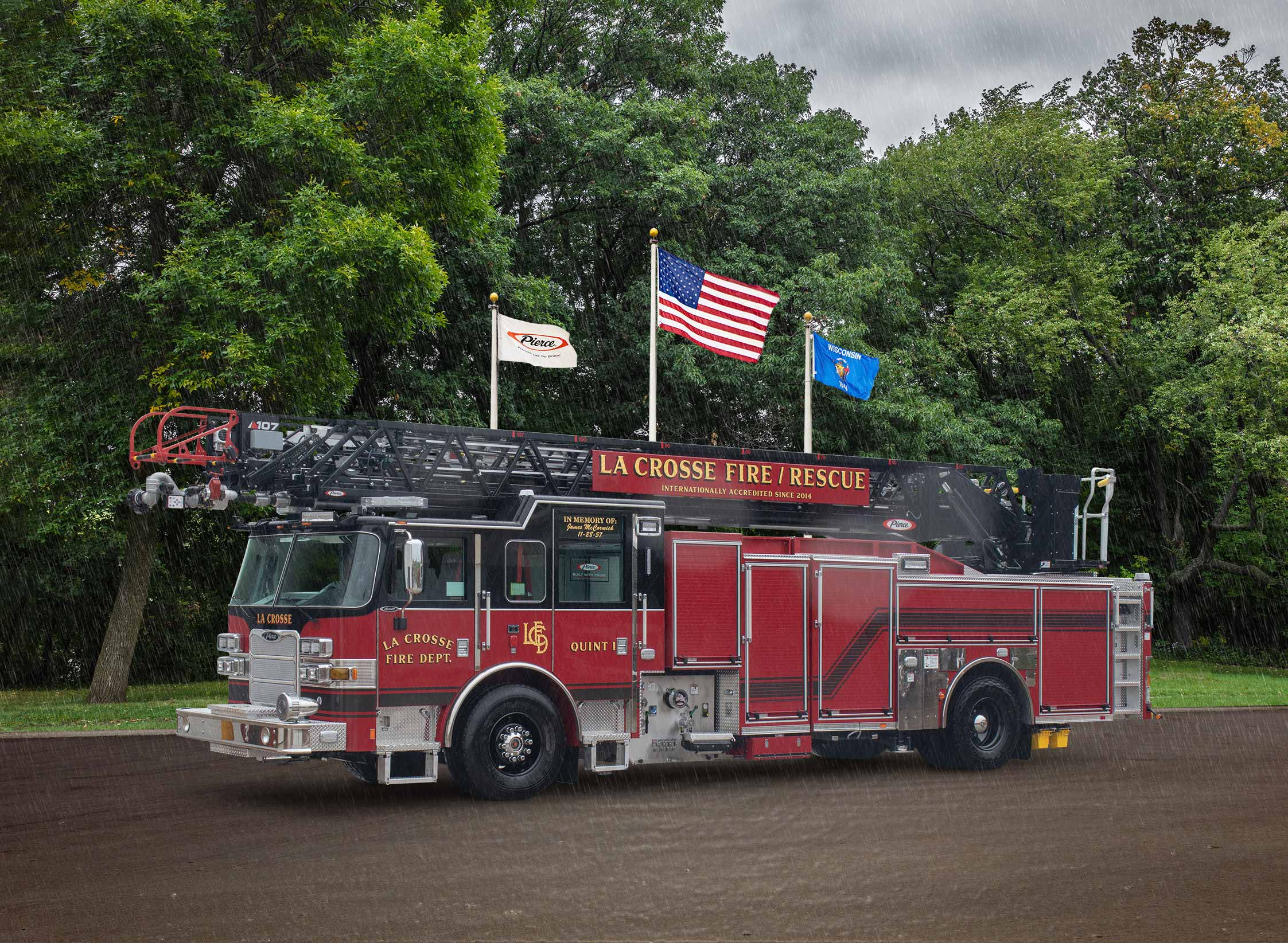 La Crosse Fire Department - Aerial