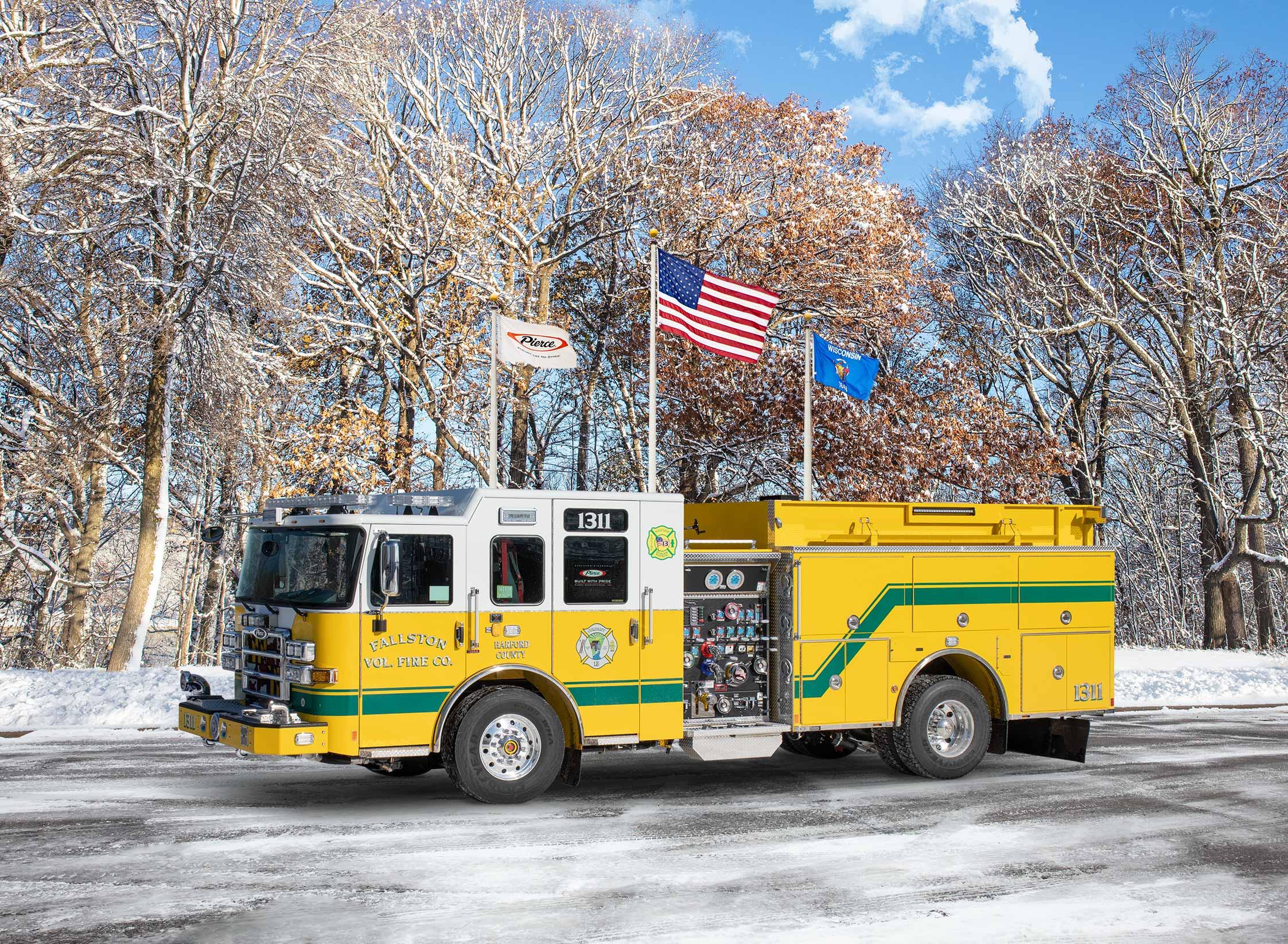 Fallston Volunteer Fire & Ambulance Company - Pumper