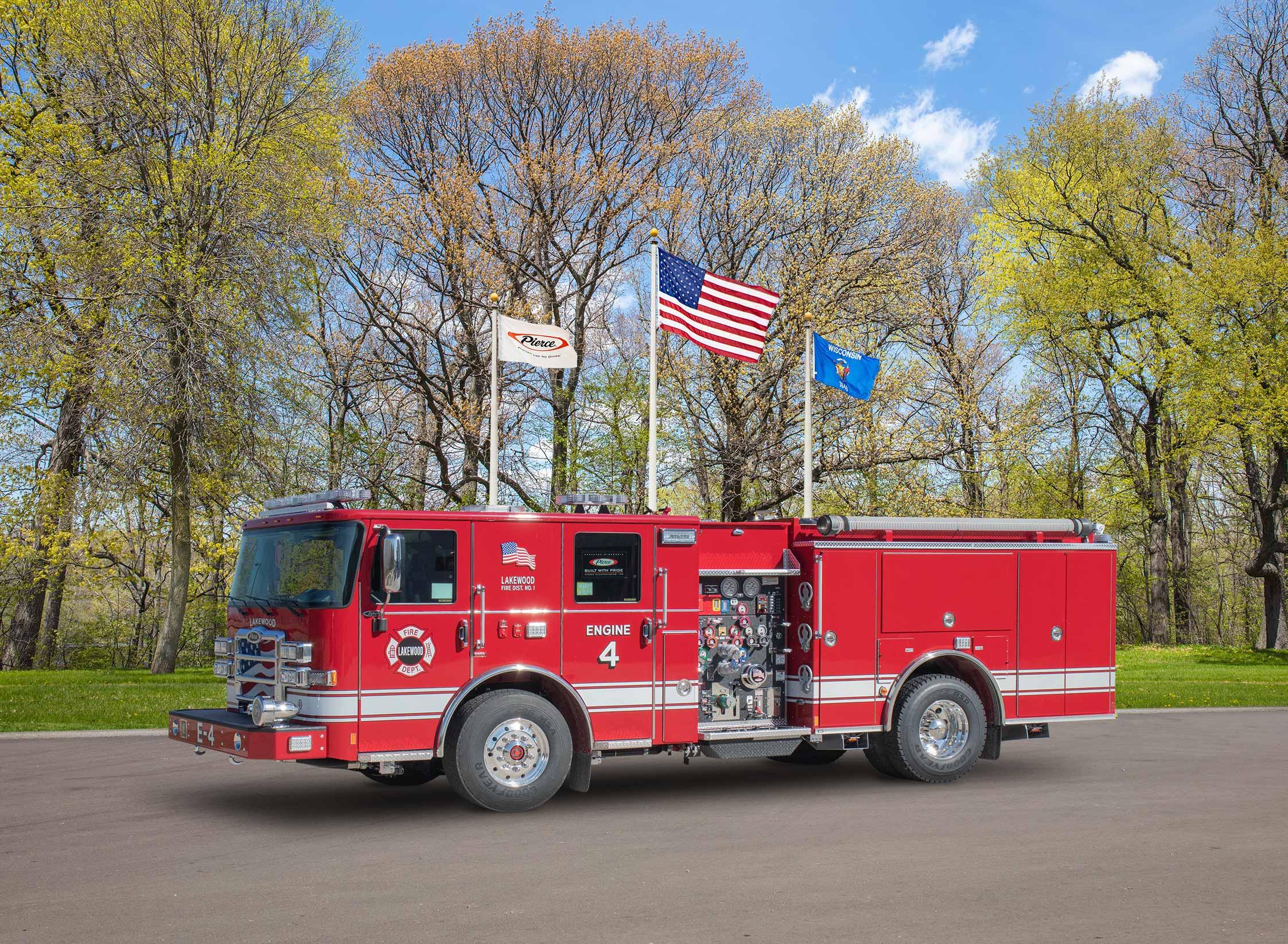 Lakewood Fire District No.1 - Pumper