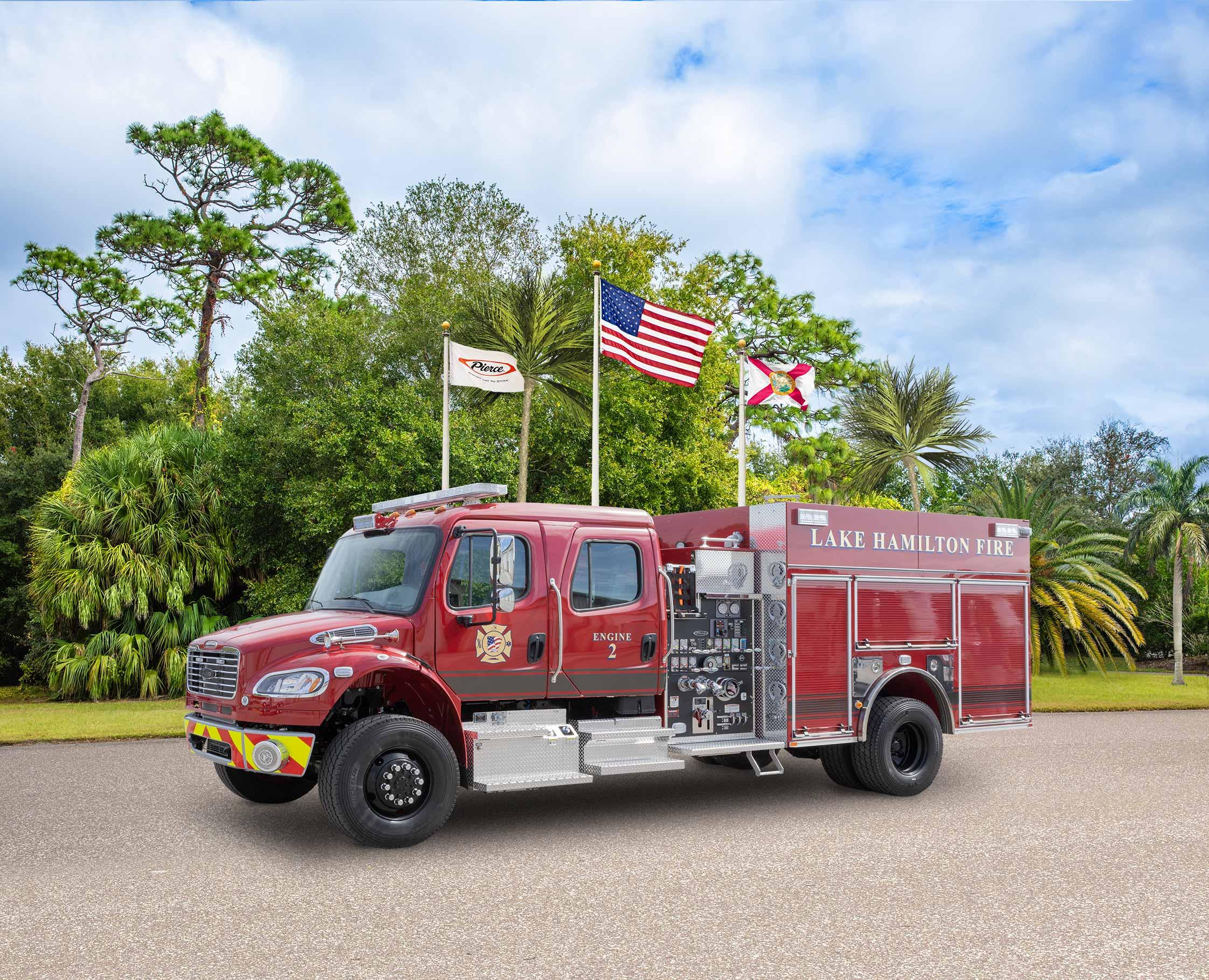 Lake Hamilton Fire Department - Pumper