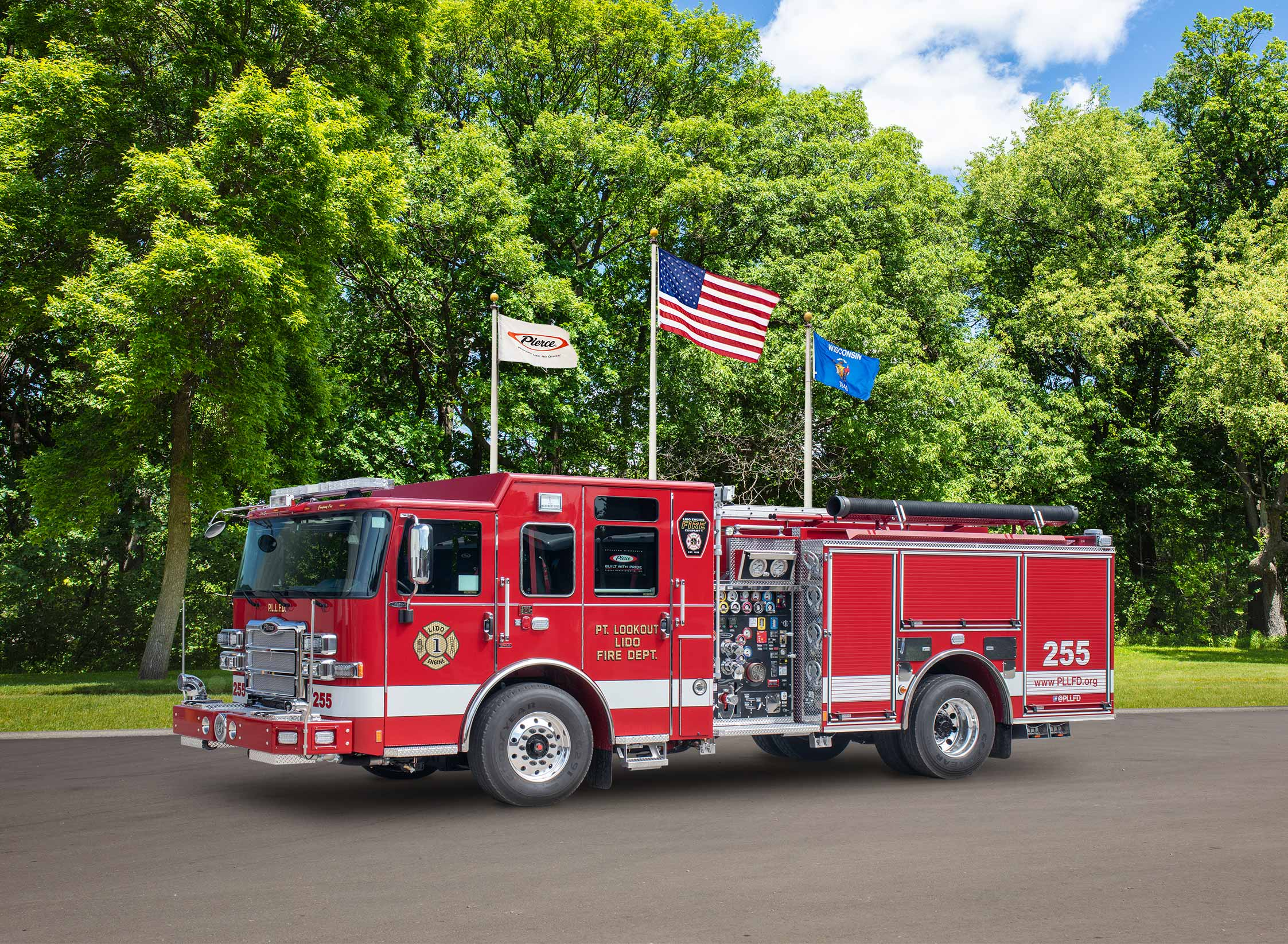 Lido and Point Lookout Fire District - Pumper