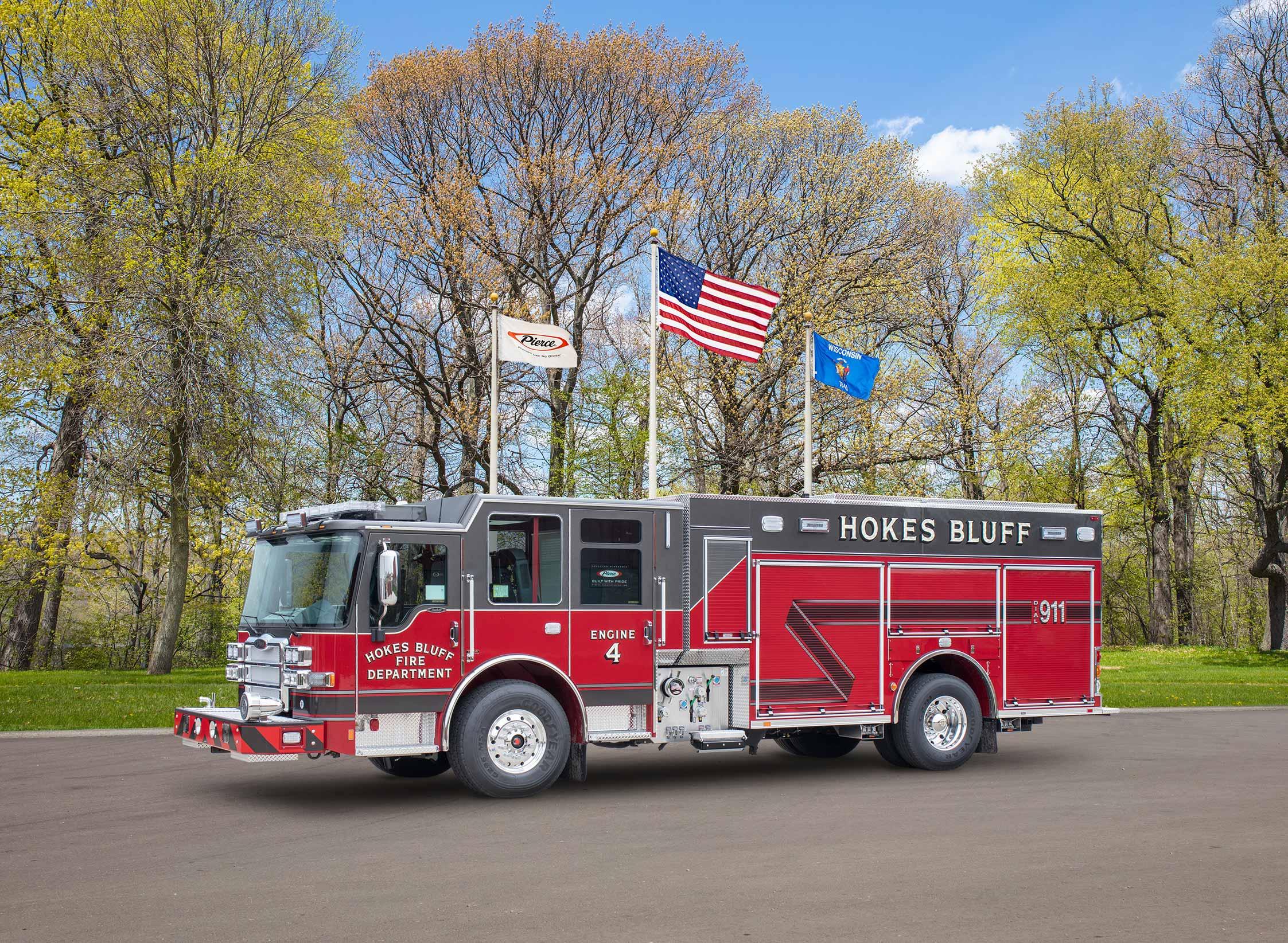 Hokes Bluff Fire Department - Pumper
