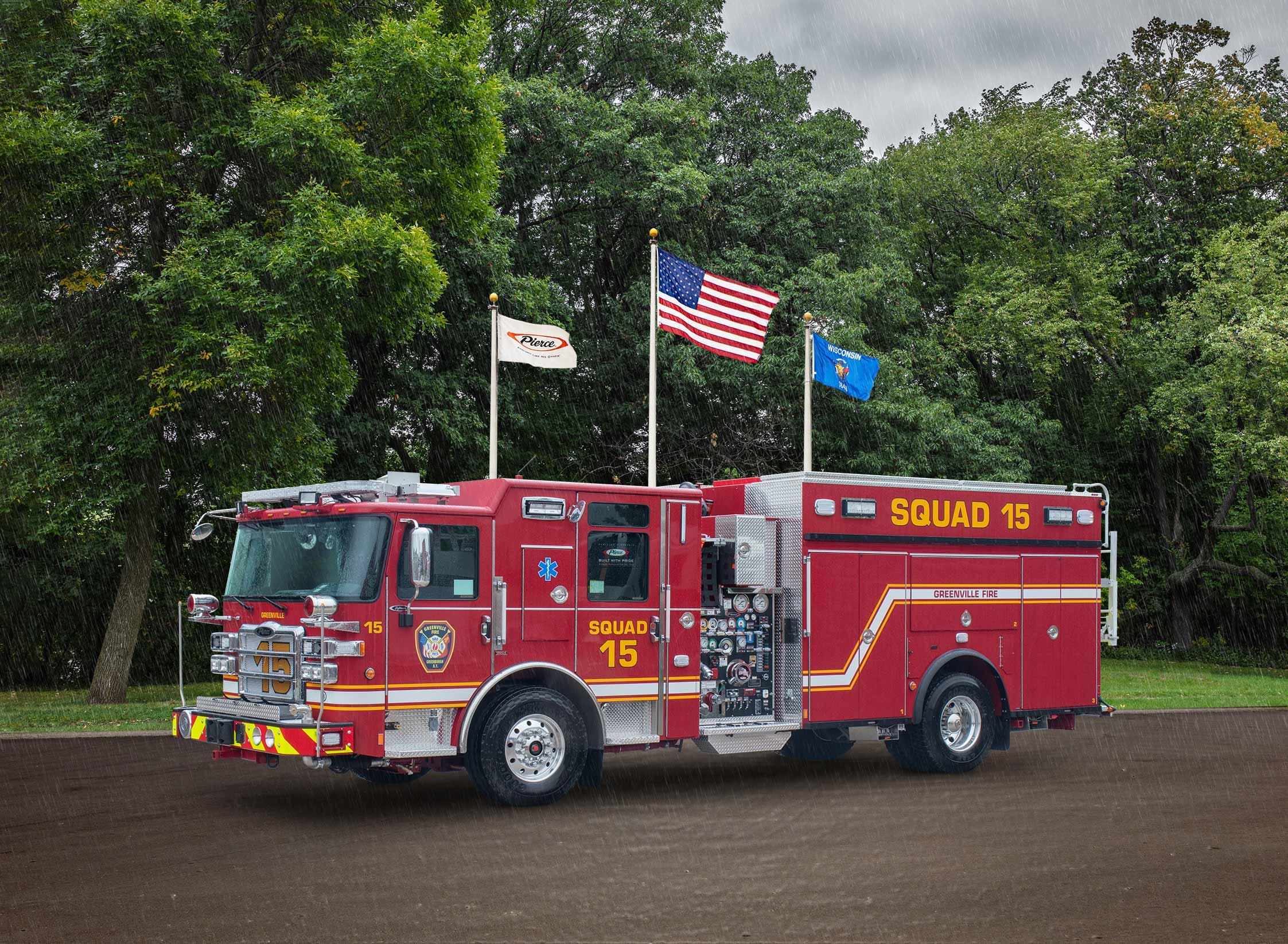 Greenville Fire District - Pumper