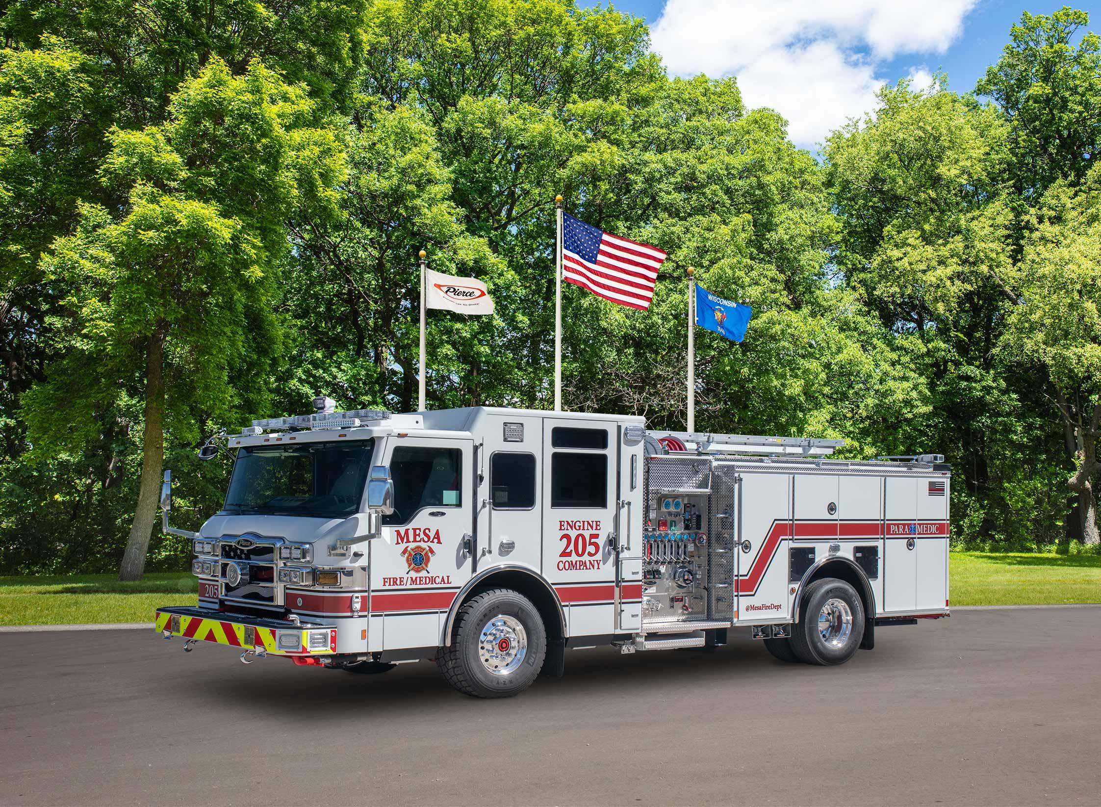 City of Mesa Fire Department - Pumper