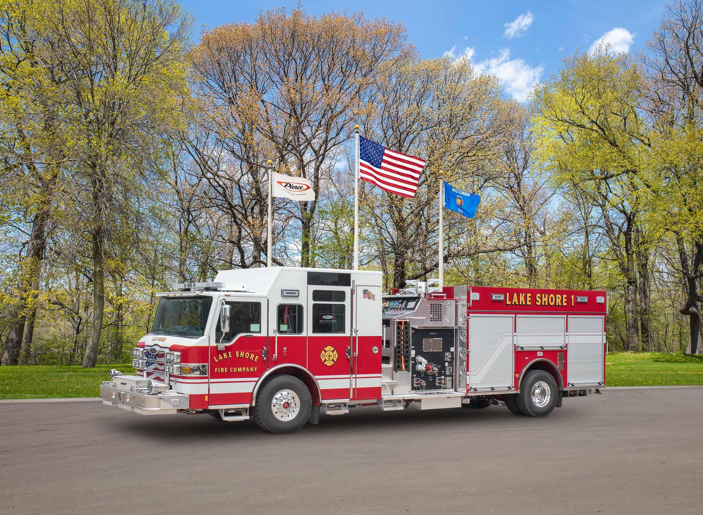 Lake Shore Volunteer Fire Company - Pumper