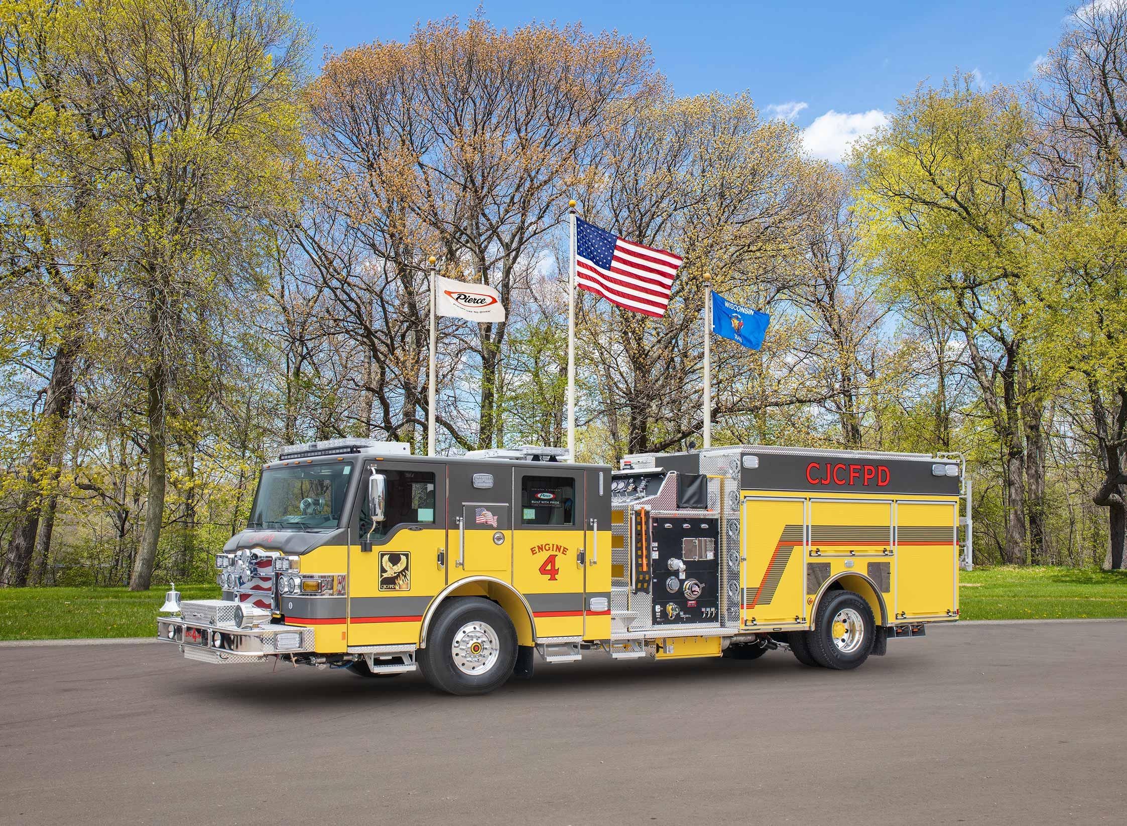 Central Jackson Fire Protection District - Pumper
