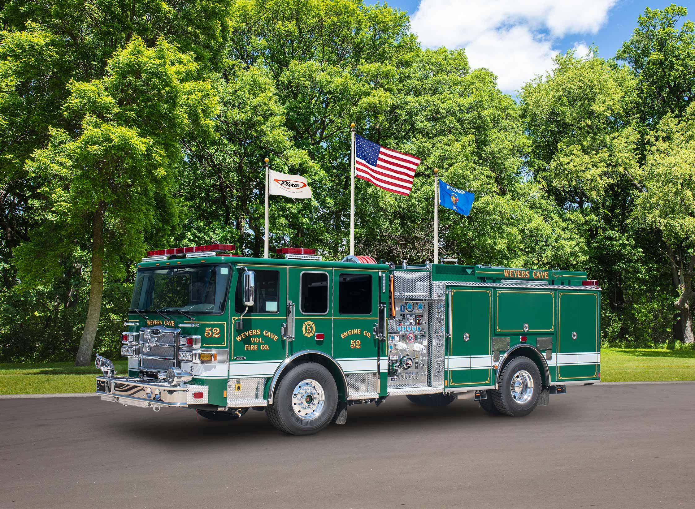 Weyers Cave Volunteer Fire Company - Pumper