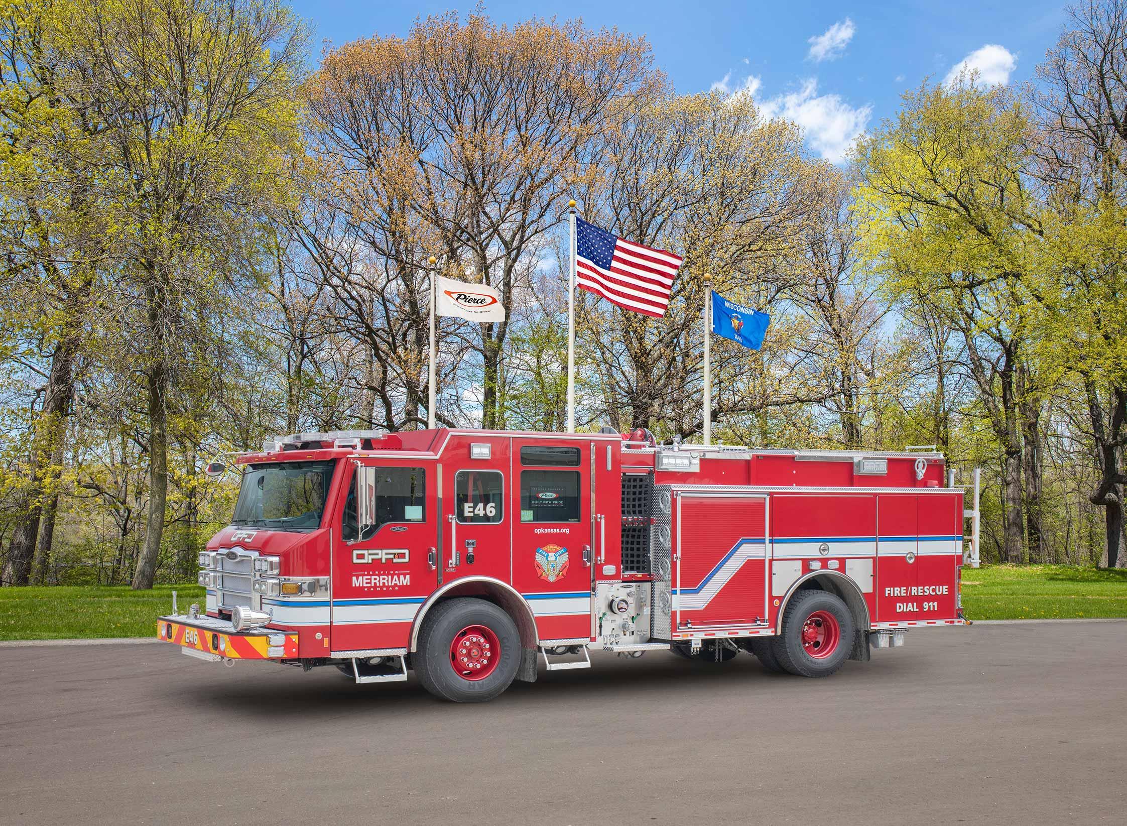Overland Park Fire Department - Pumper