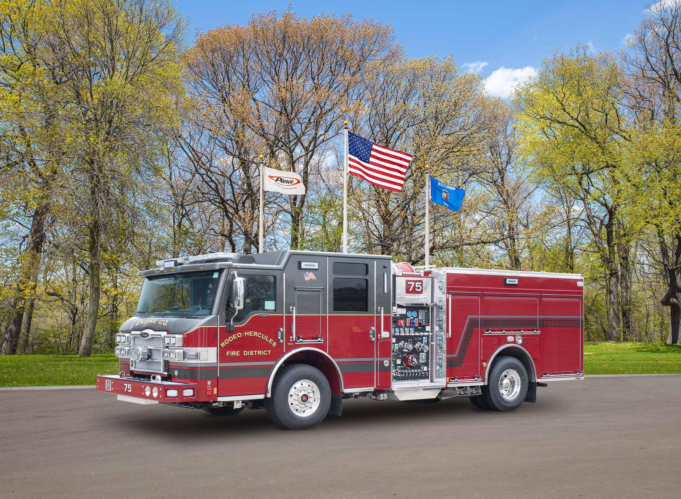 Rodeo-Hercules Fire District - Pumper