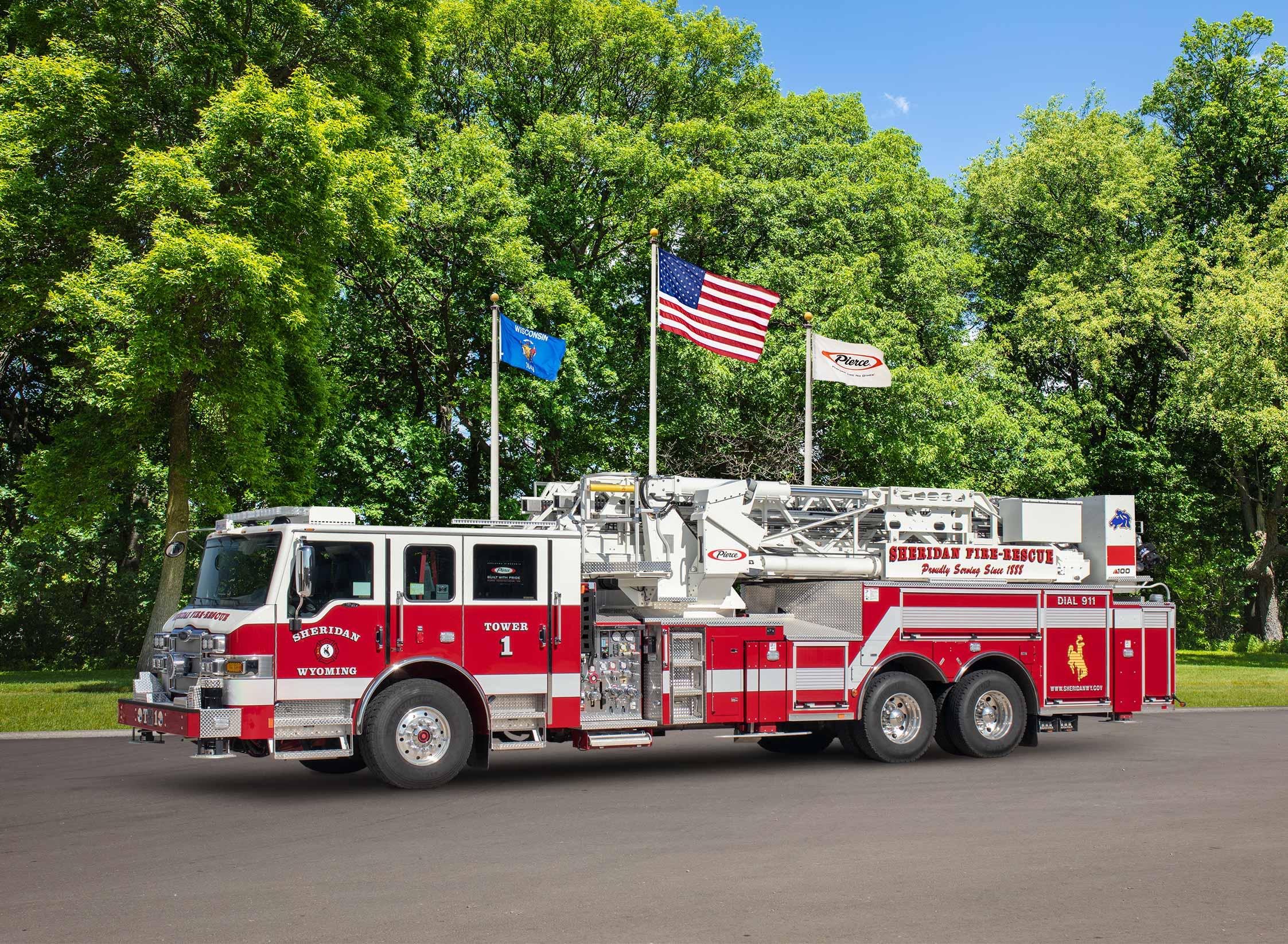 Sheridan Fire-Rescue - Aerial
