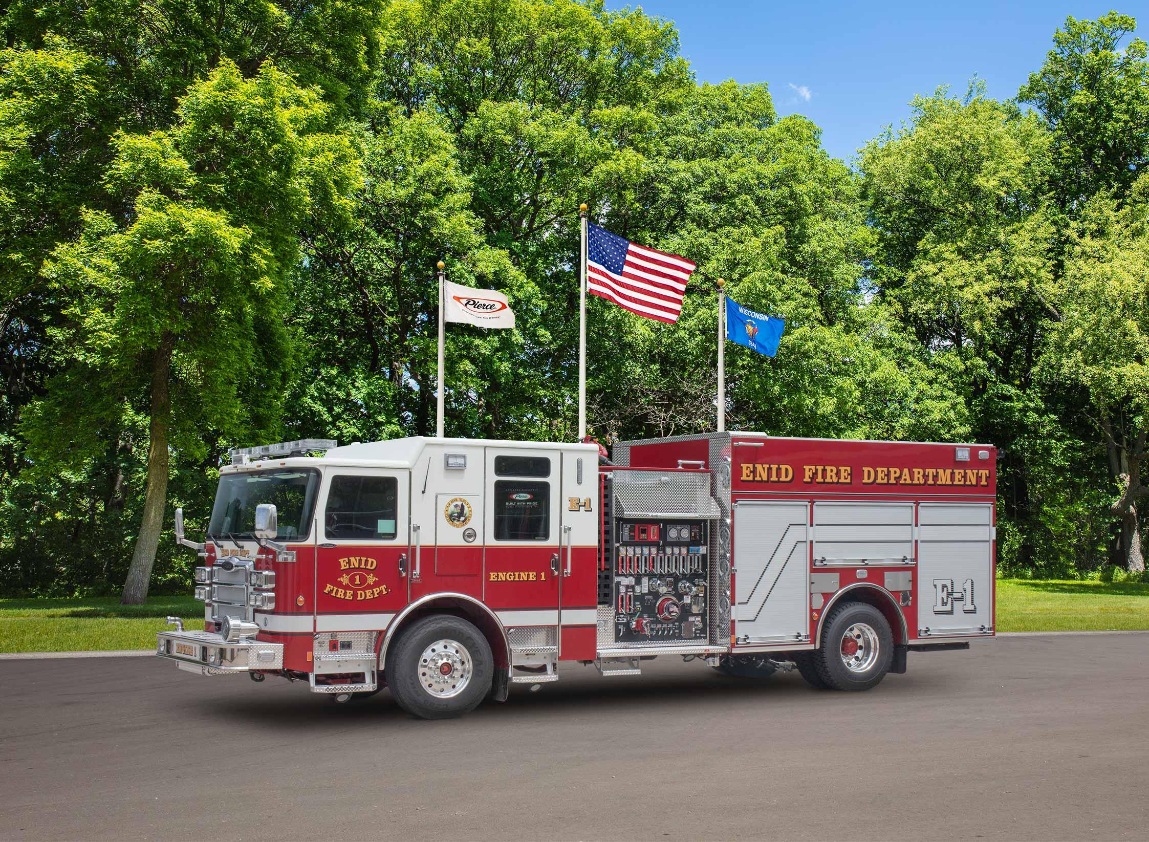 Enid Fire Department - Pumper