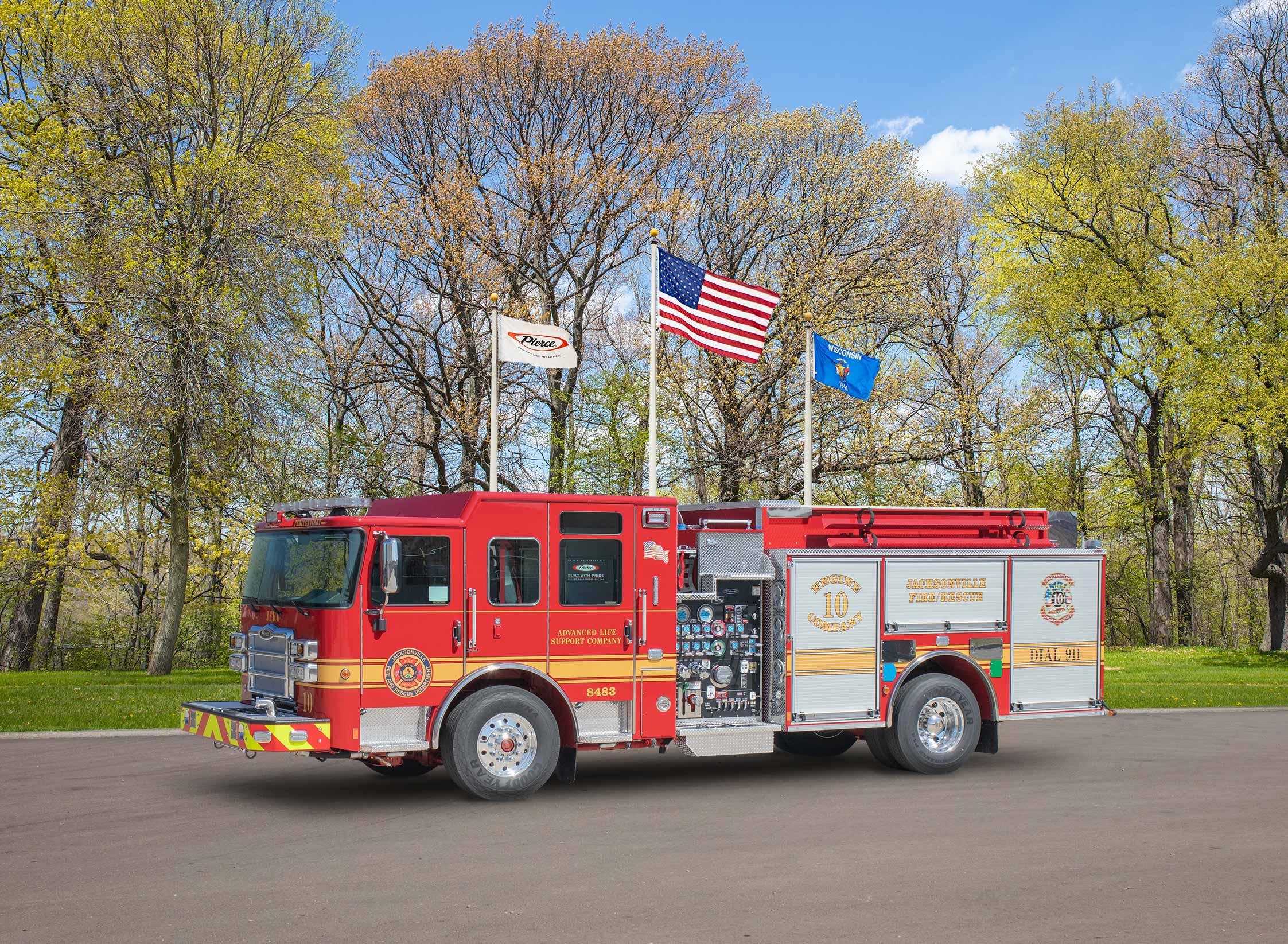 Jacksonville Fire & Rescue - Pumper