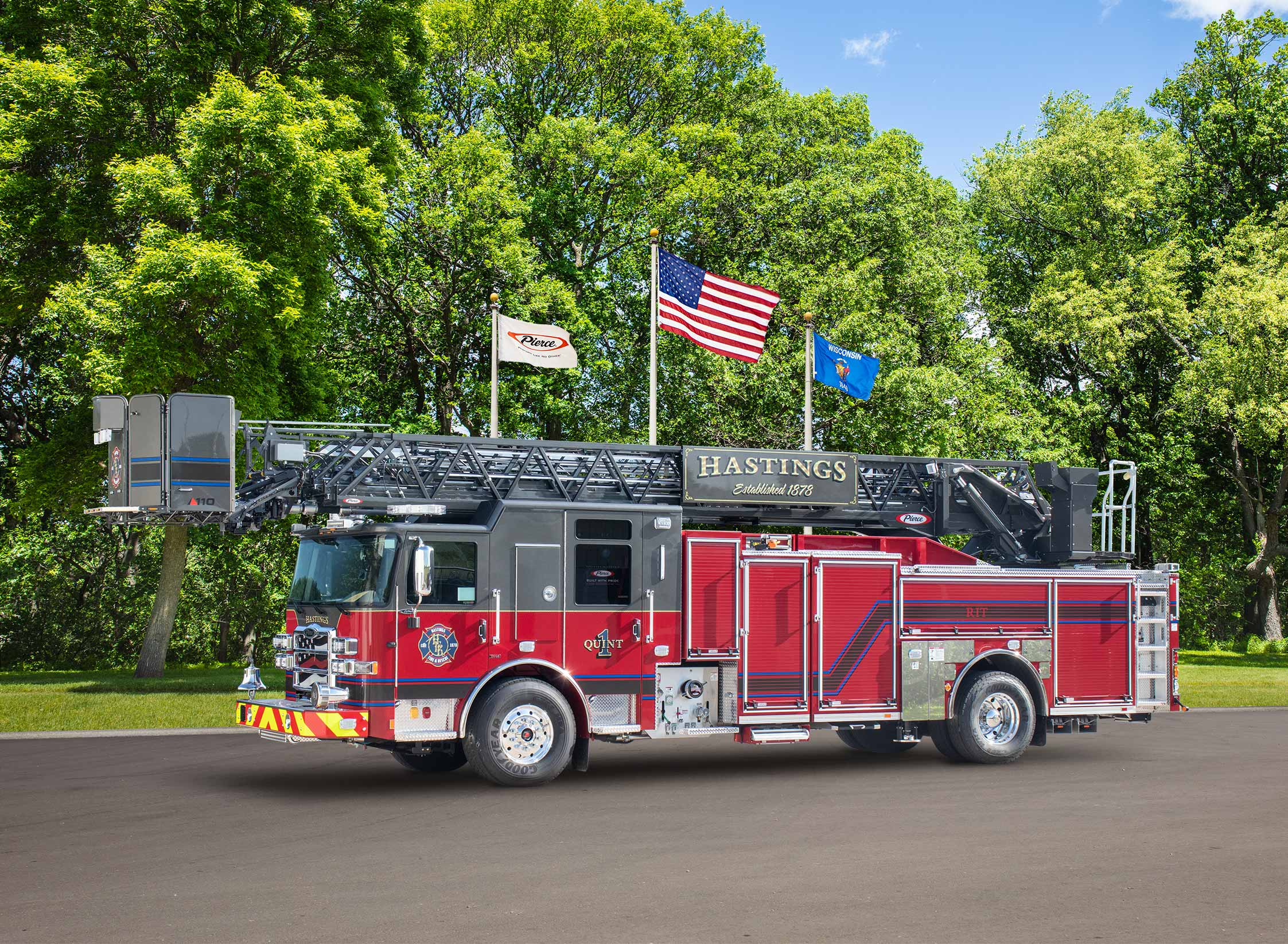 Hastings Fire and Rescue - Aerial