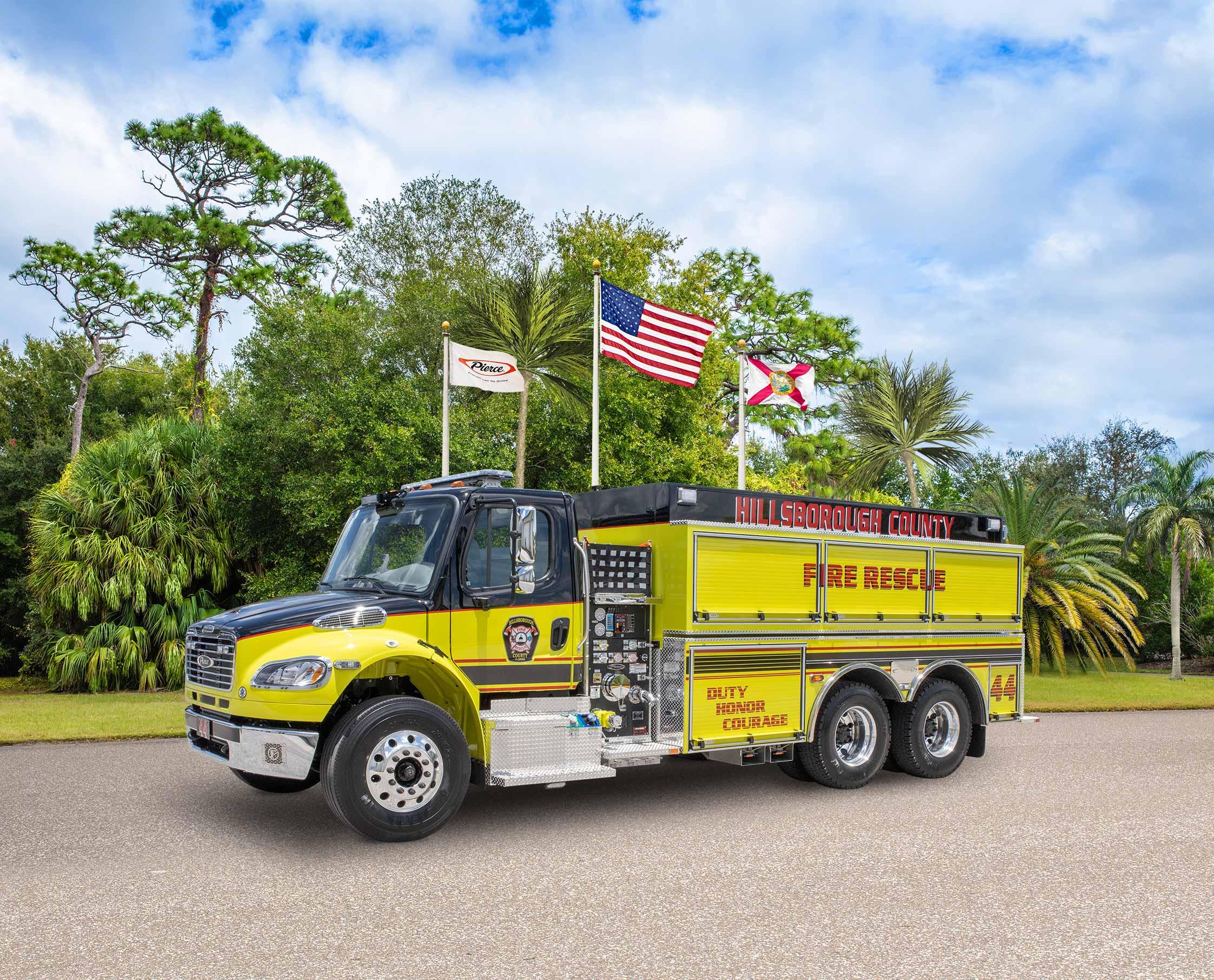 Hillsborough County Fire Rescue - Tanker
