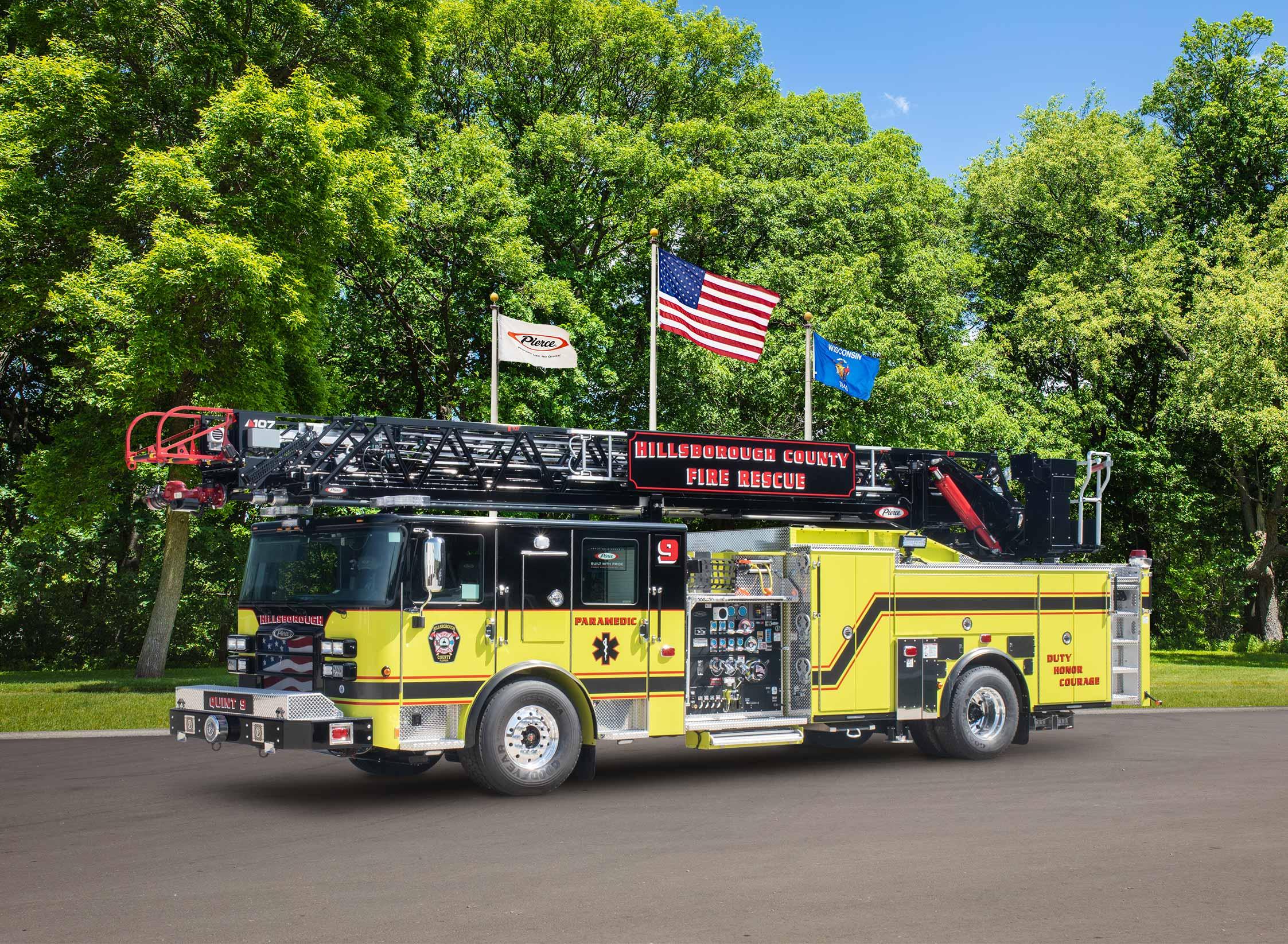 Hillsborough County Fire Rescue - Aerial