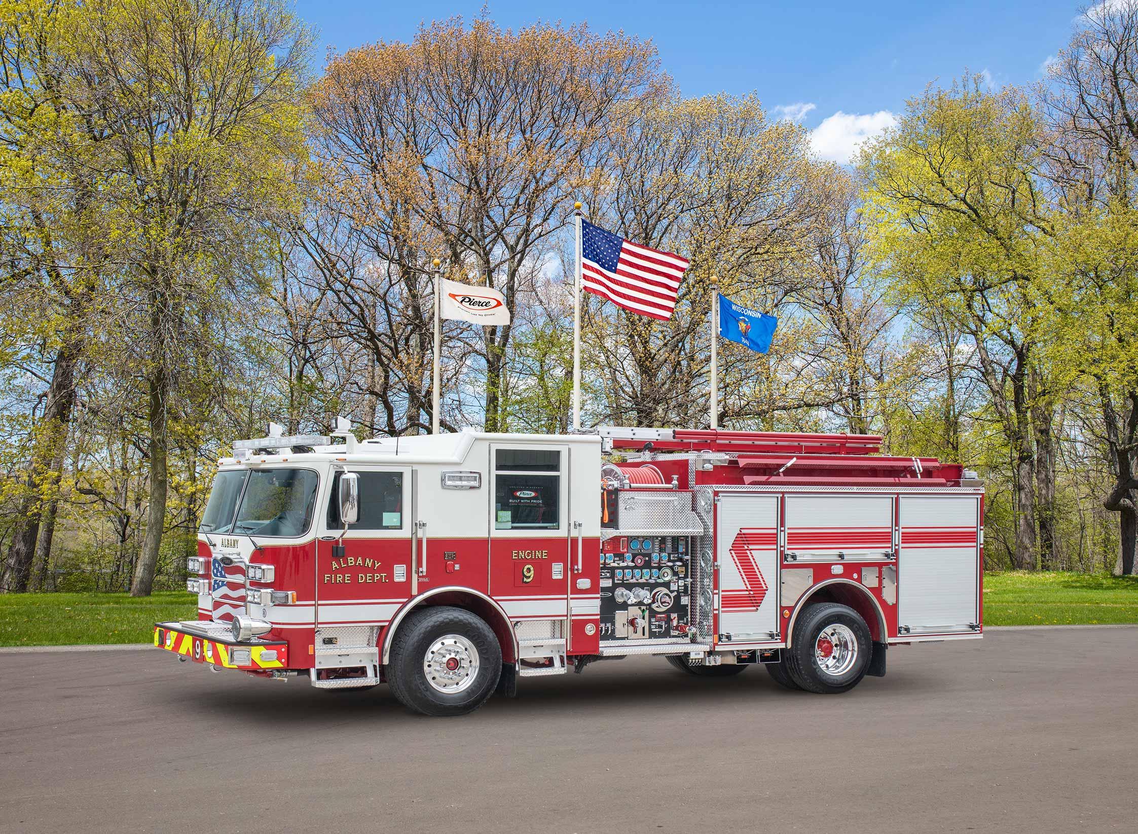 Albany Fire Department - Pumper