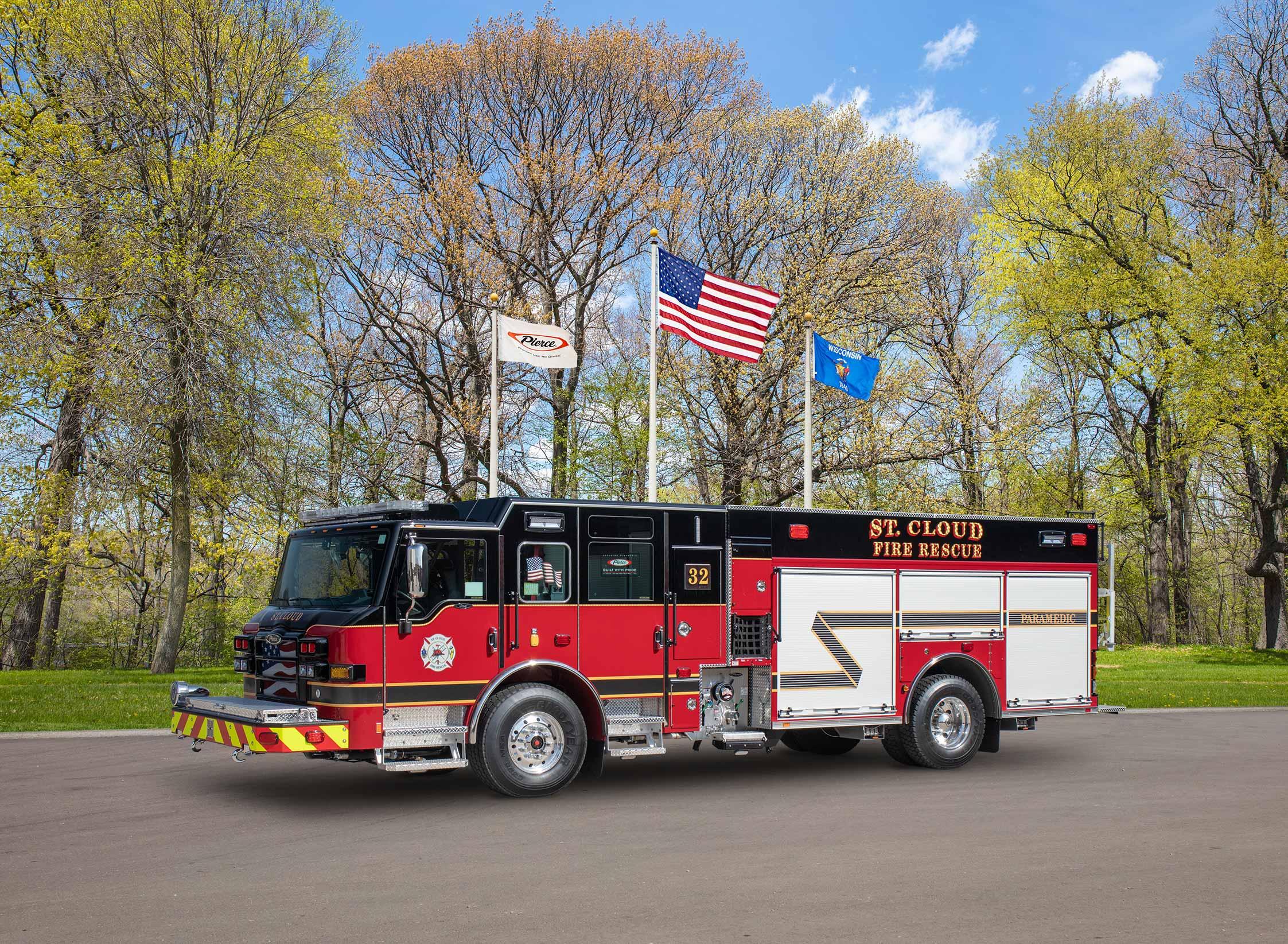 St. Cloud Fire Rescue - Pumper