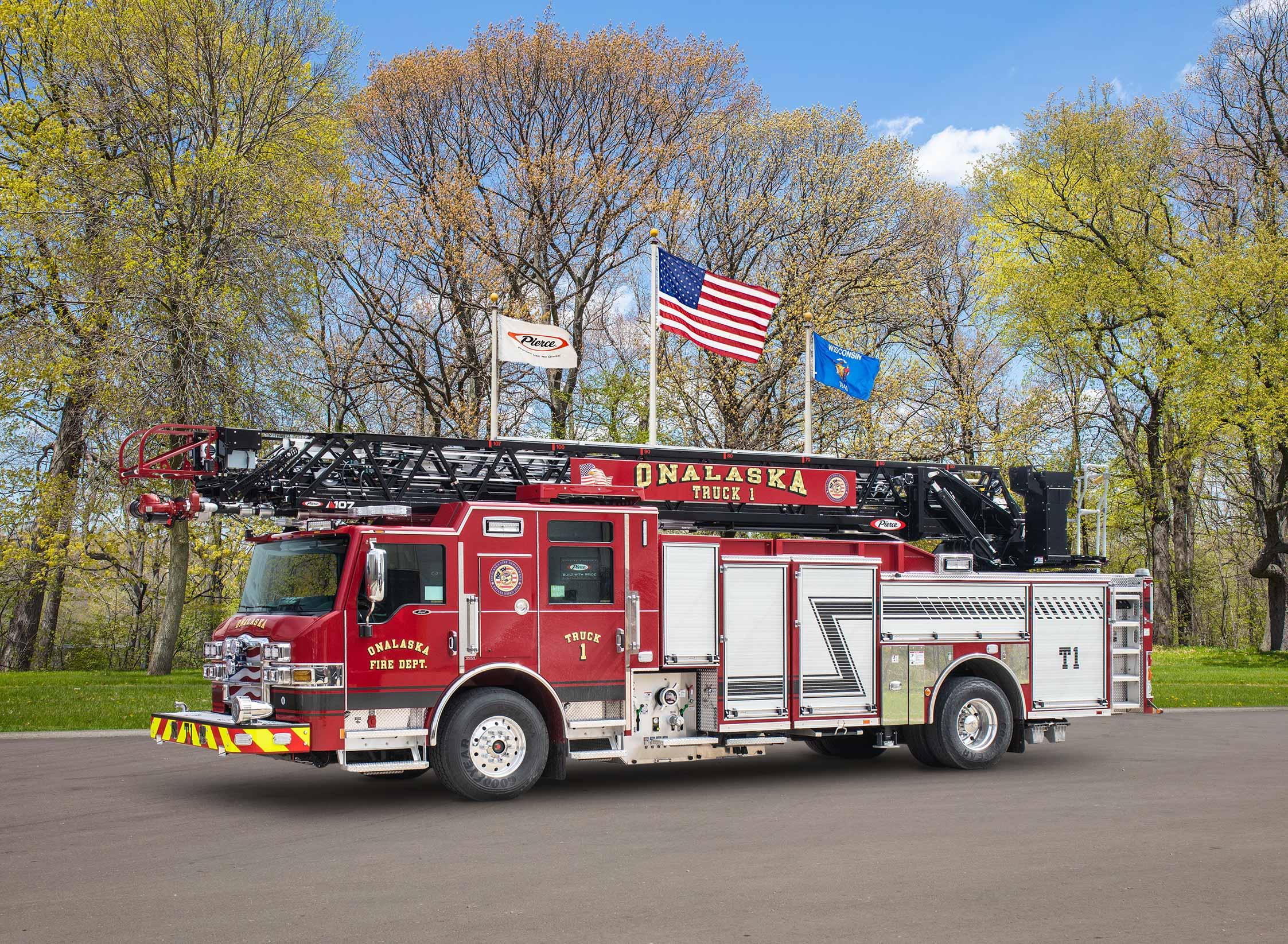 Onalaska Fire Department - Aerial