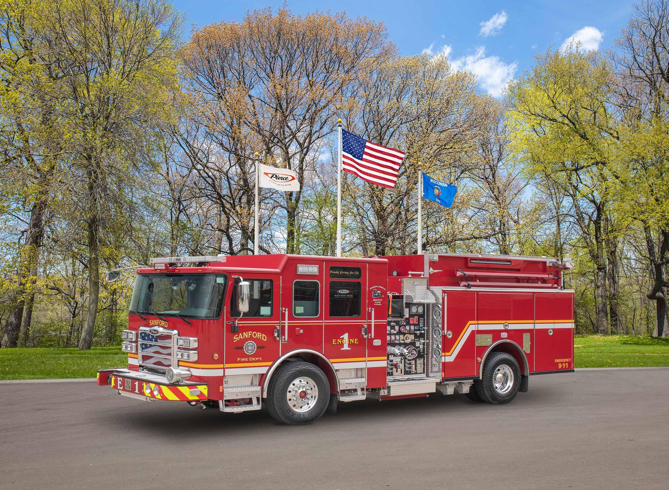 Sanford Fire Department - Pumper