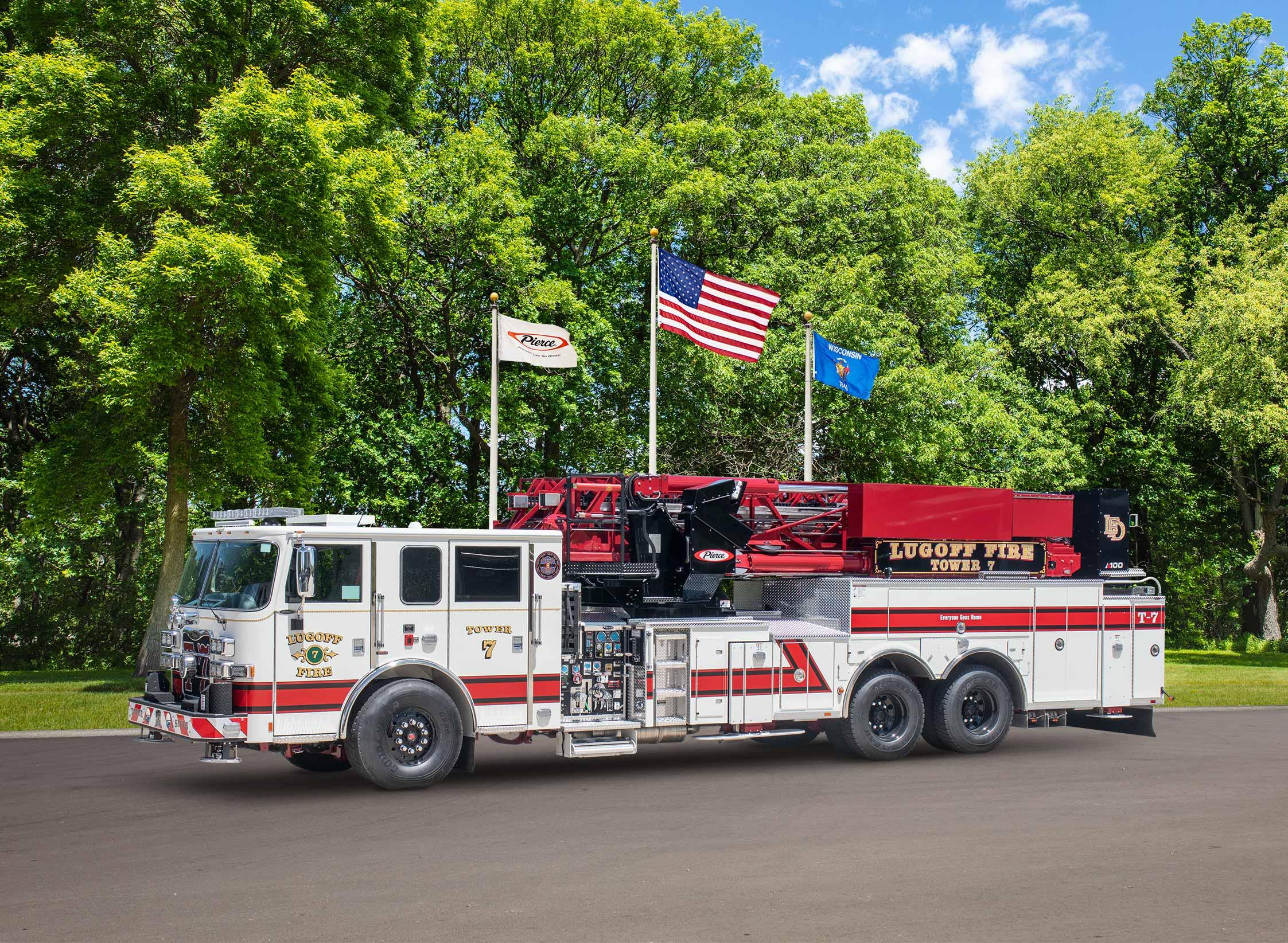 Lugoff Fire Rescue - Aerial