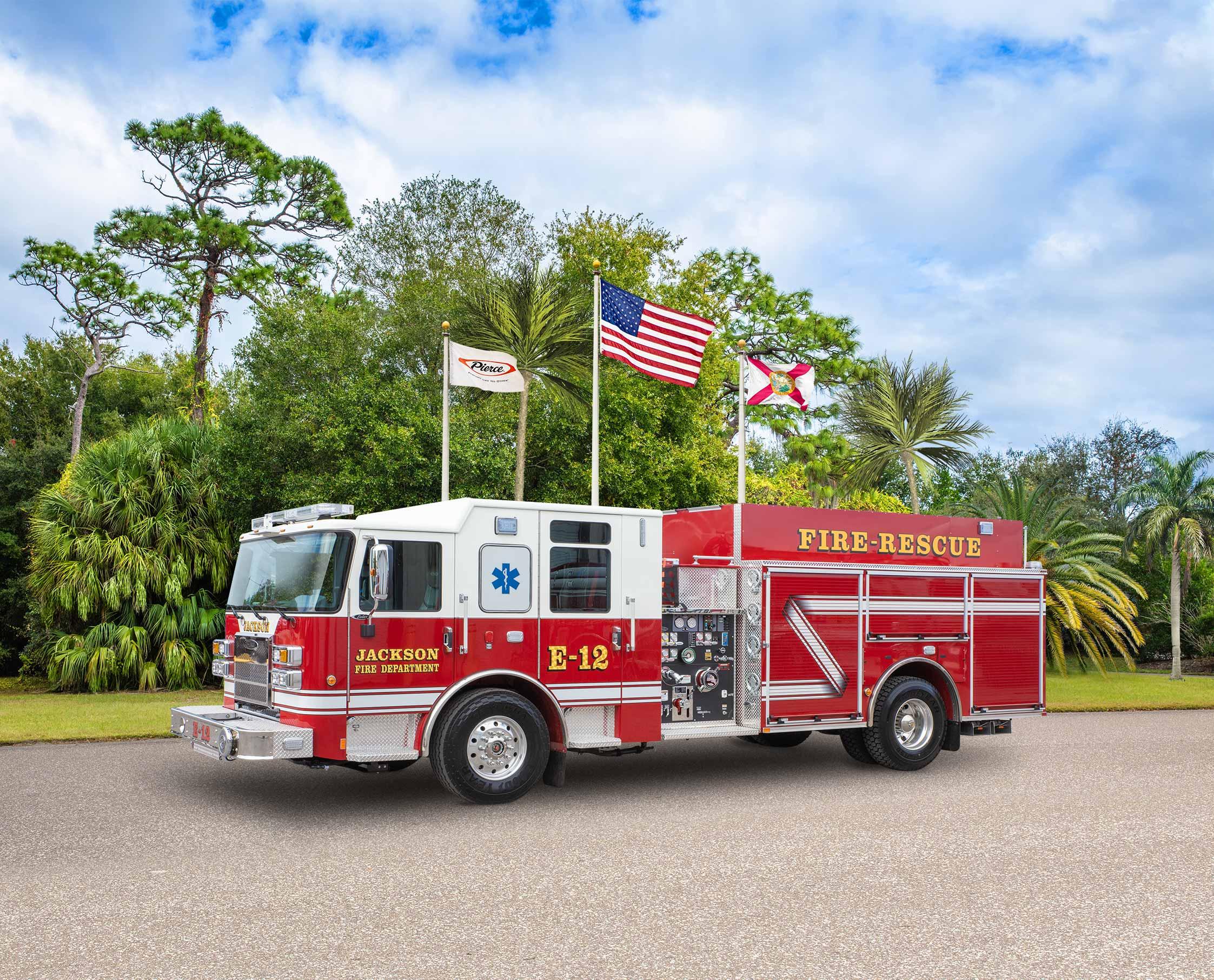 Jackson Fire Department - Pumper