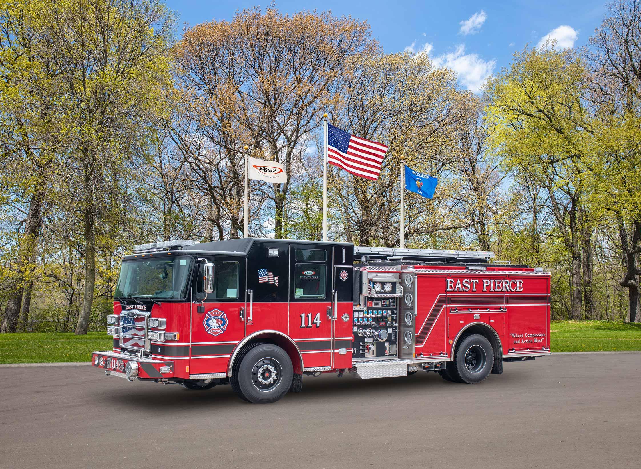 East Pierce Fire and Rescue - Pumper