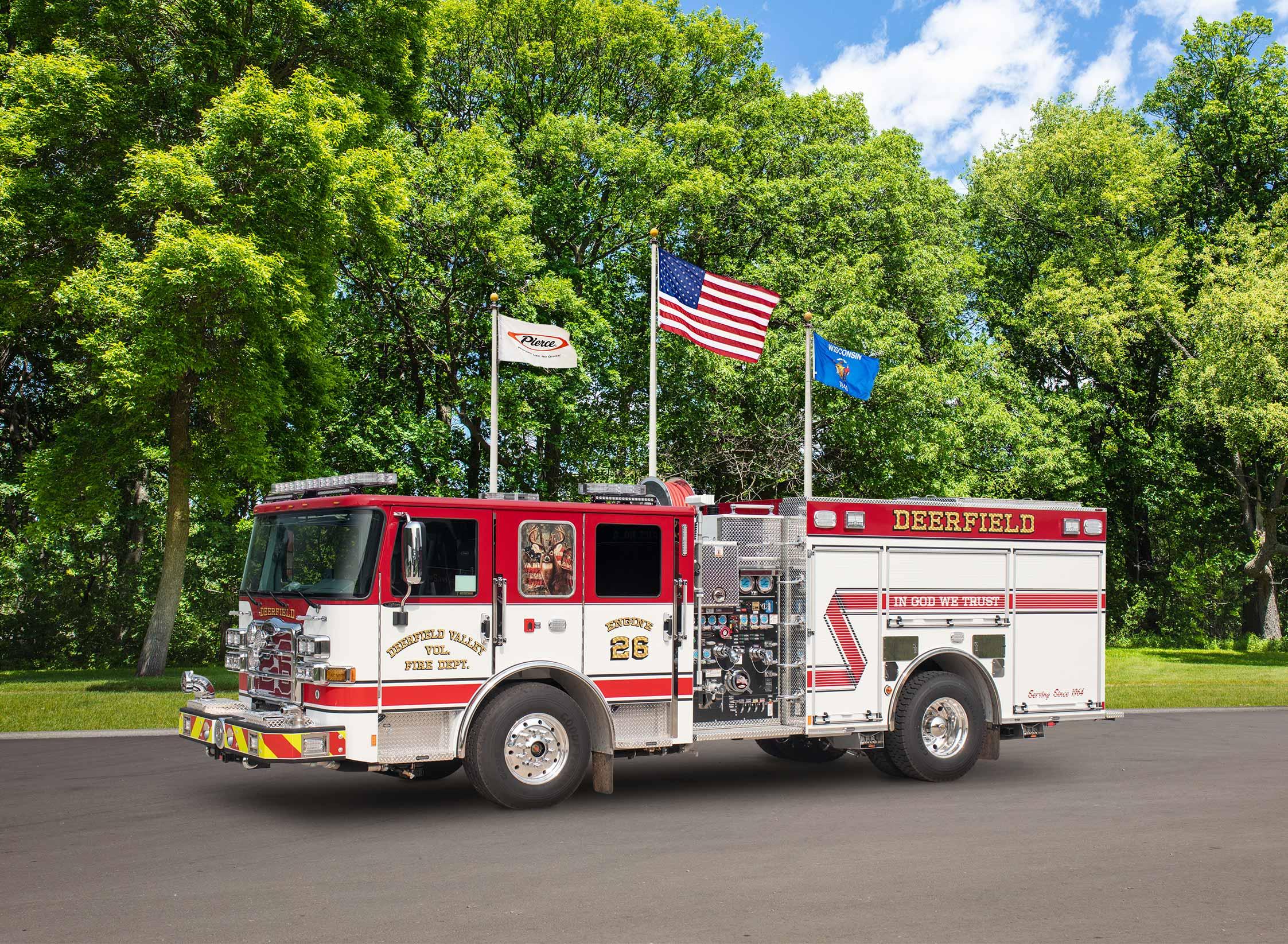 Deerfield Volunteer Fire Department - Pumper