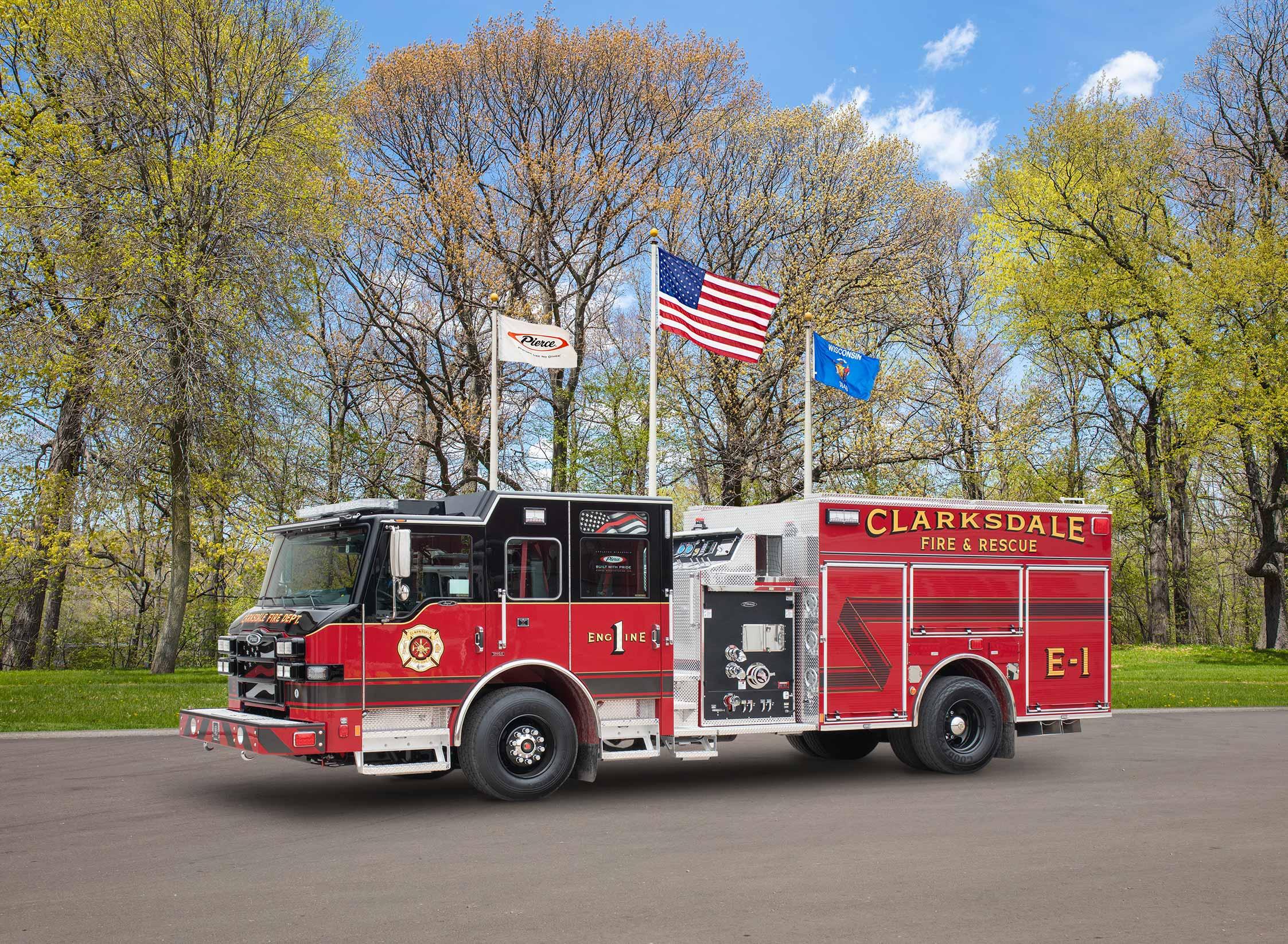 Clarksdale Fire & Rescue - Pumper