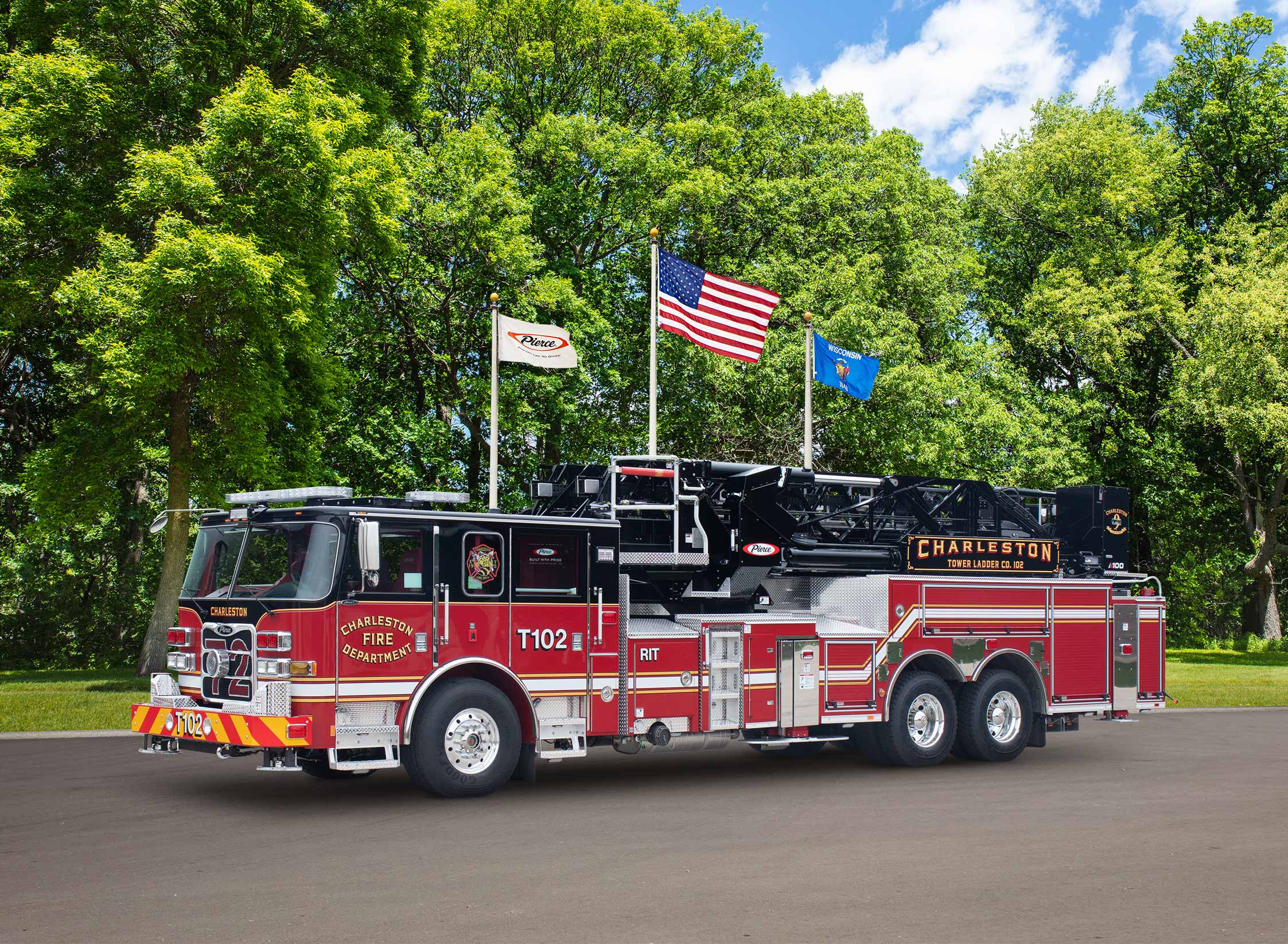 Charleston Fire Department - Aerial