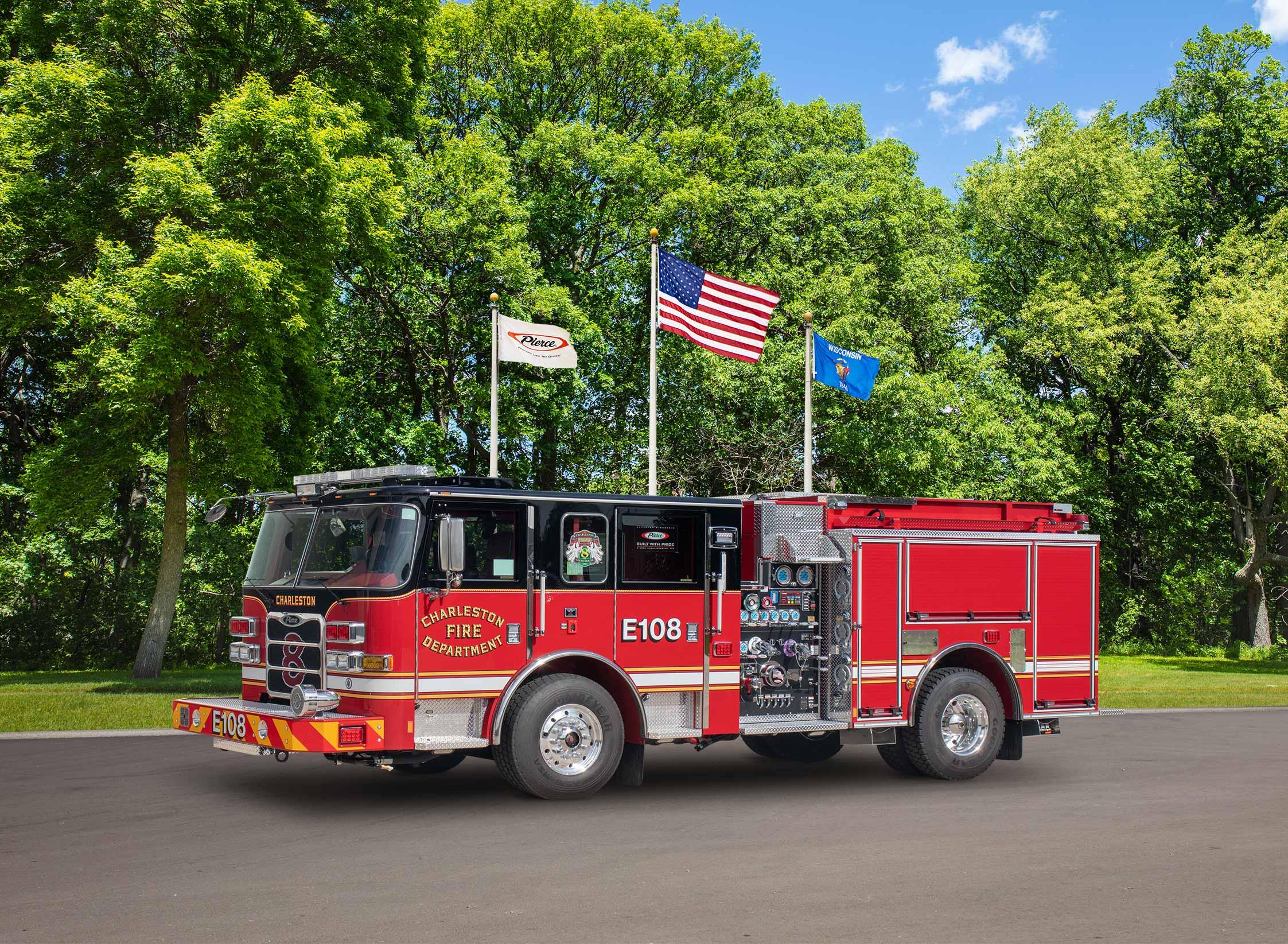 Charleston Fire Department - Pumper