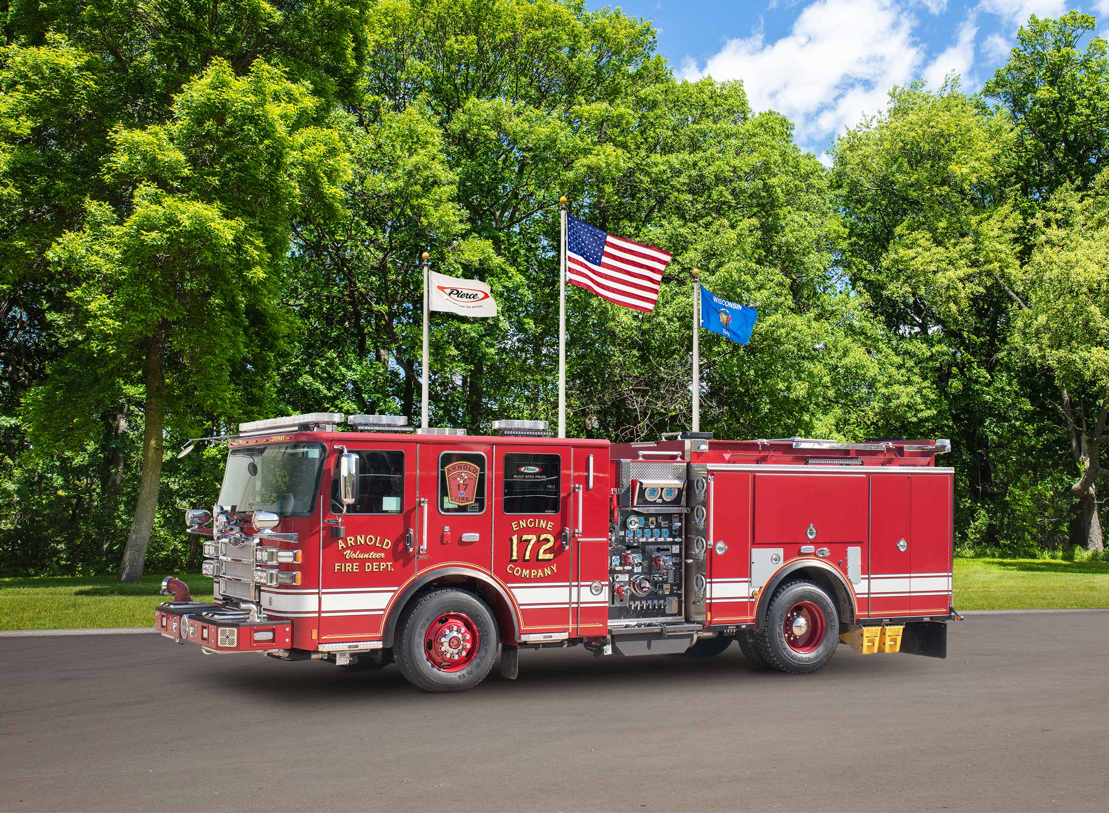 Arnold Volunteer Fire Department - Pumper