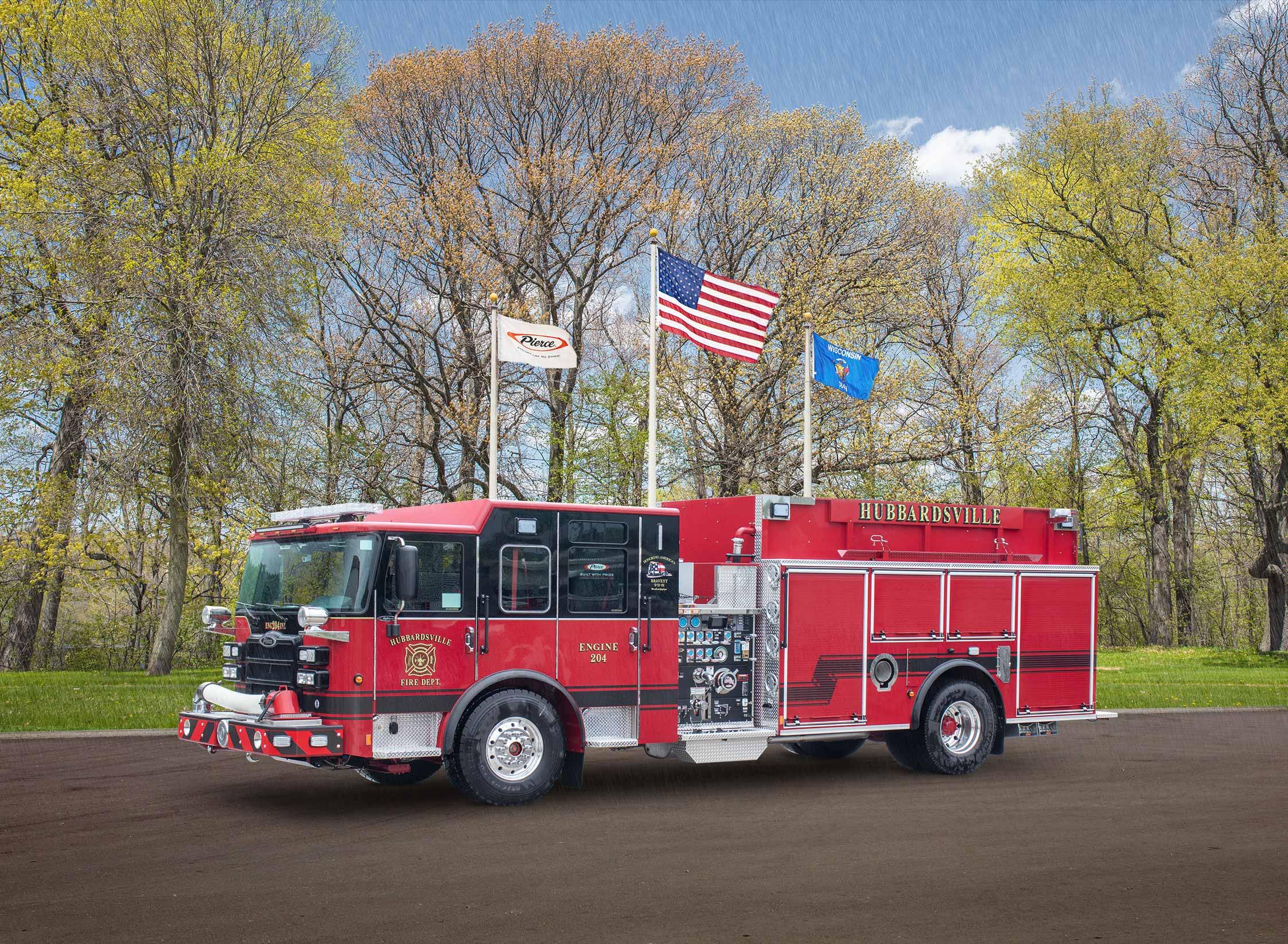 Hubbardsville Fire District - Pumper