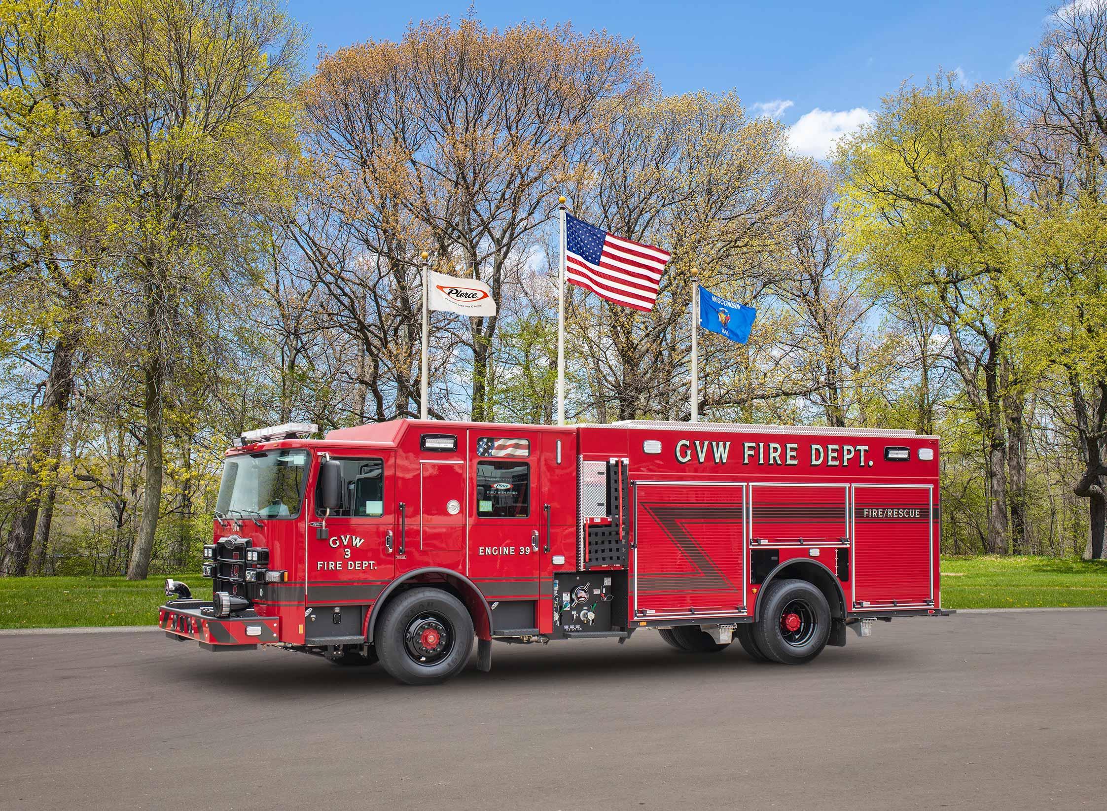 G.V.W. Fire Department - Pumper