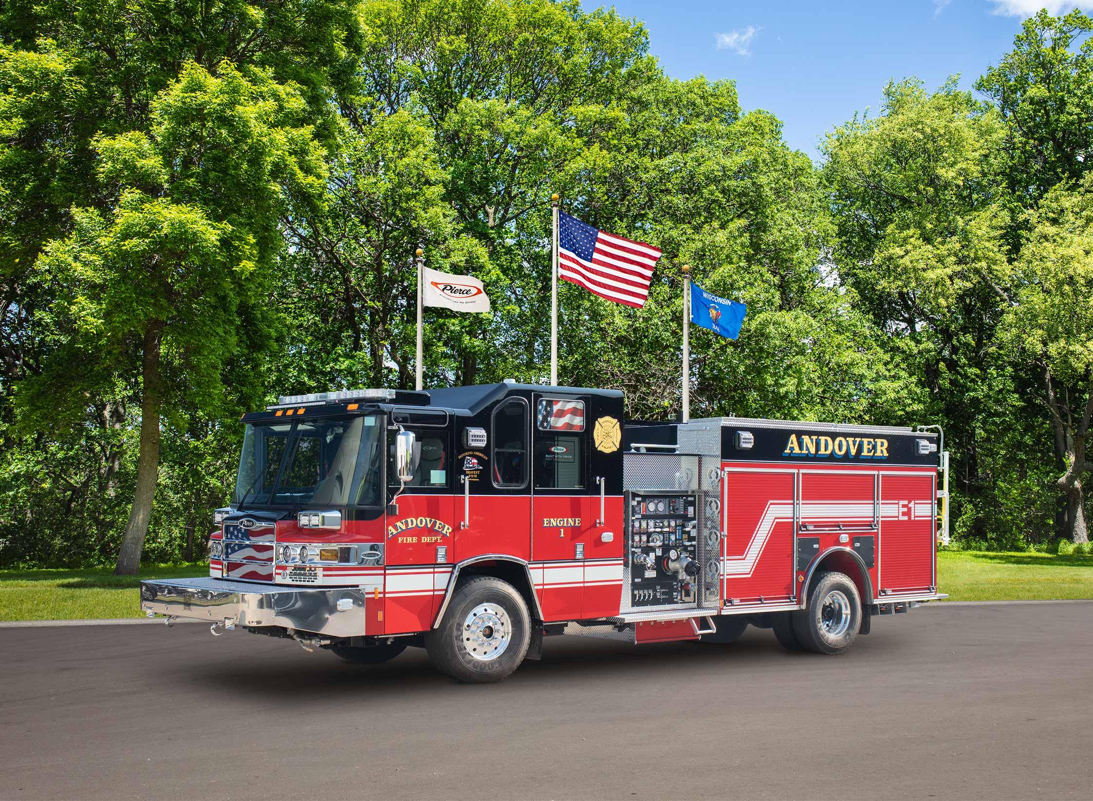 Andover Fire Department - Pumper