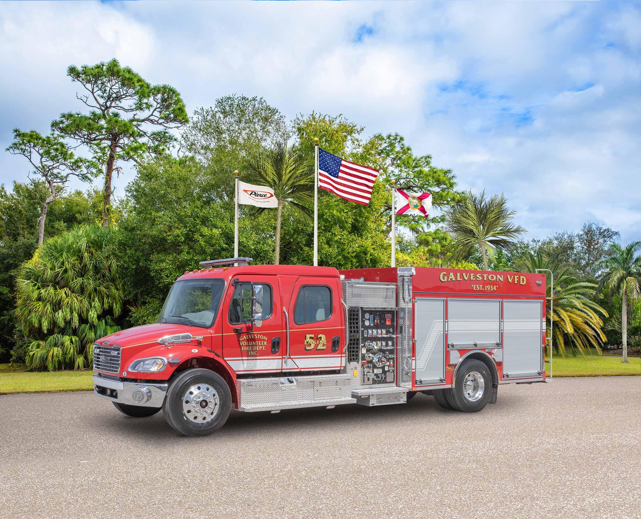 Galveston Volunteer Fire Department - Pumper